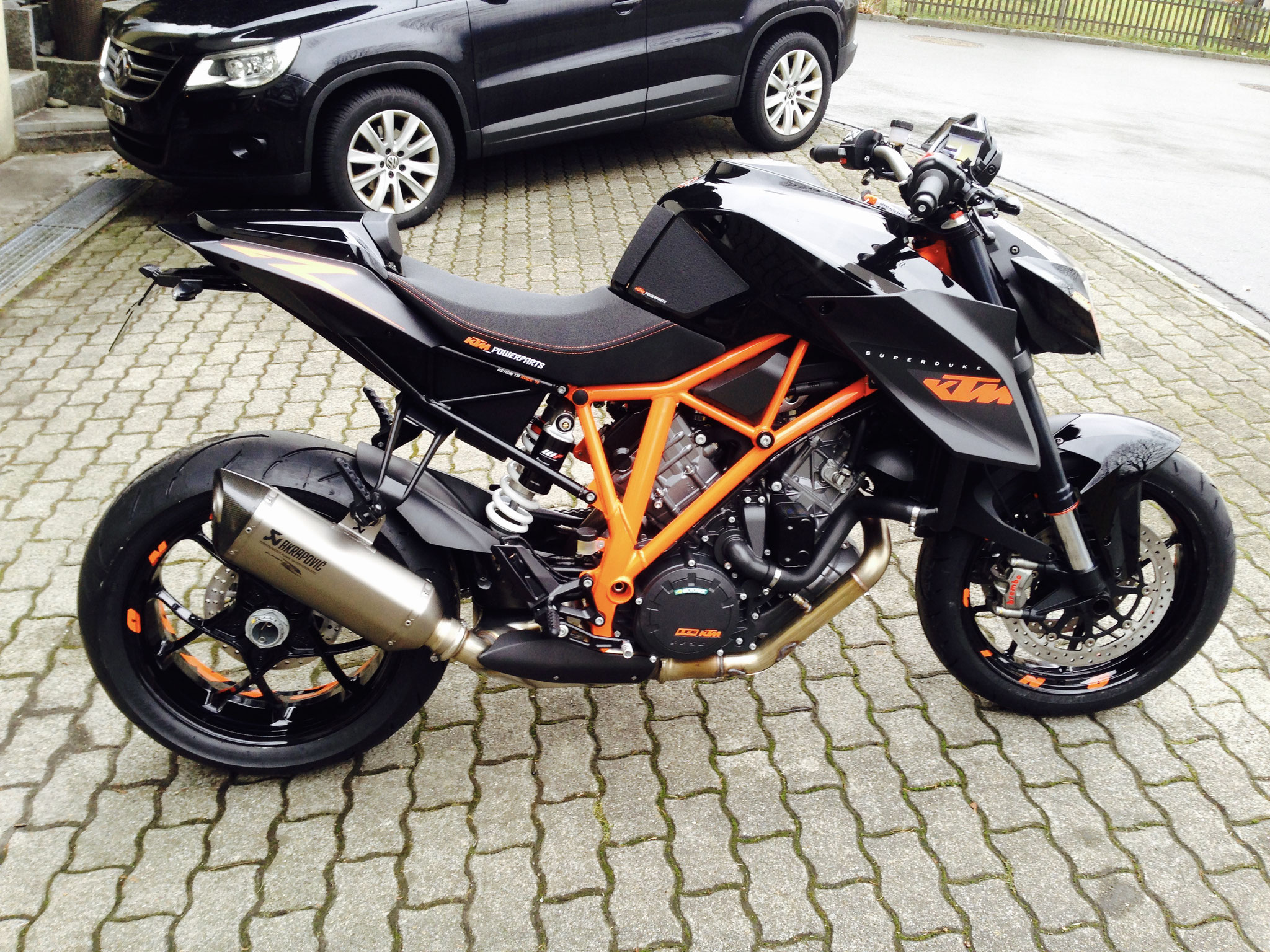 my KTM 1290 Super Duke, Jg 2014