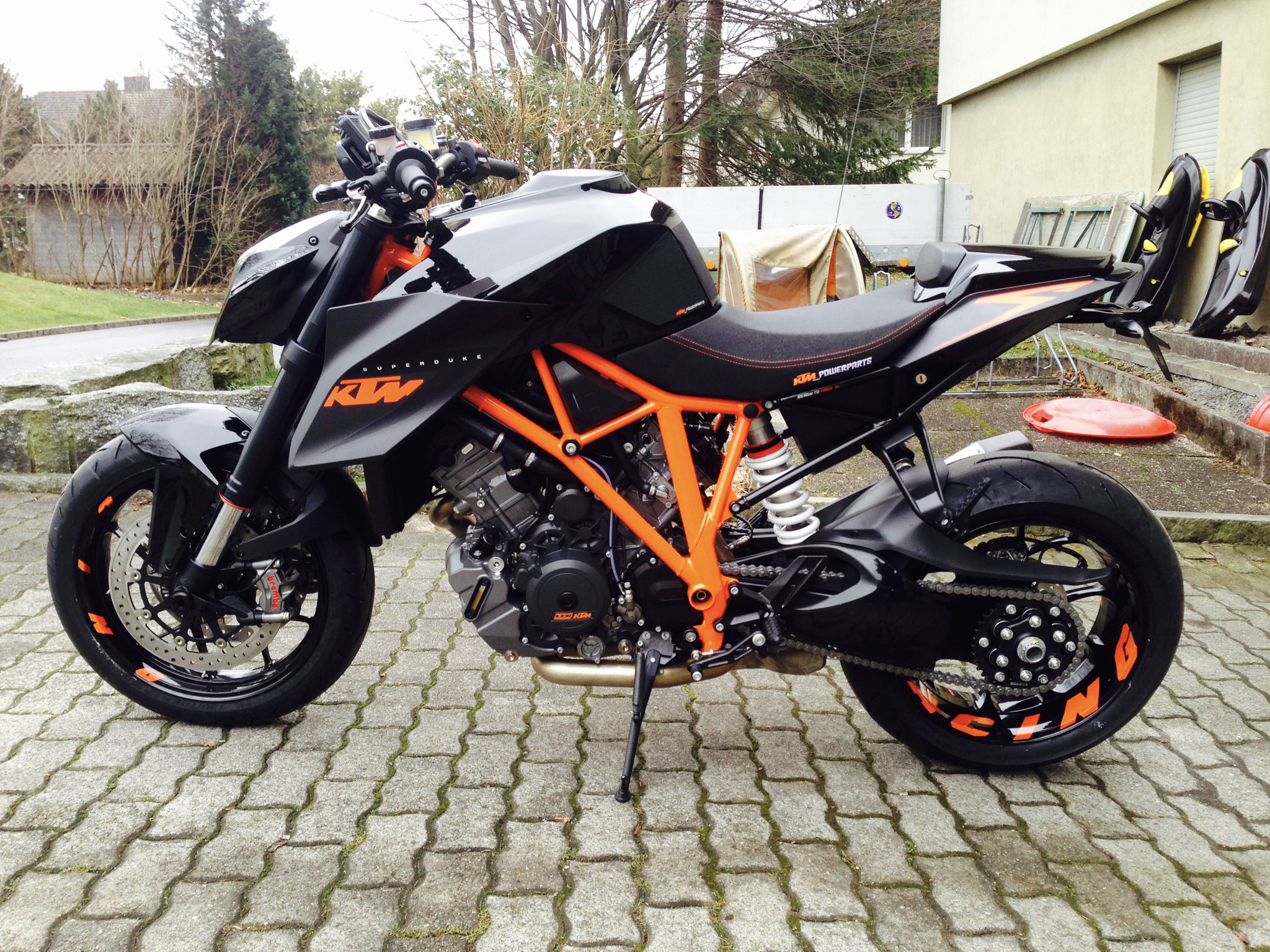 my KTM 1290 Super Duke