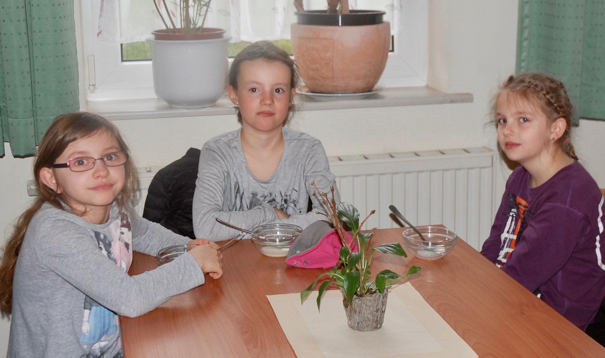 Lea, Nele und Mia