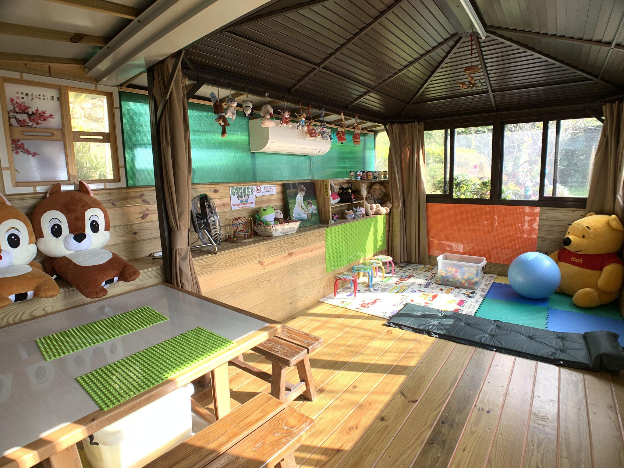 室內兒童遊戲空間(備空調)