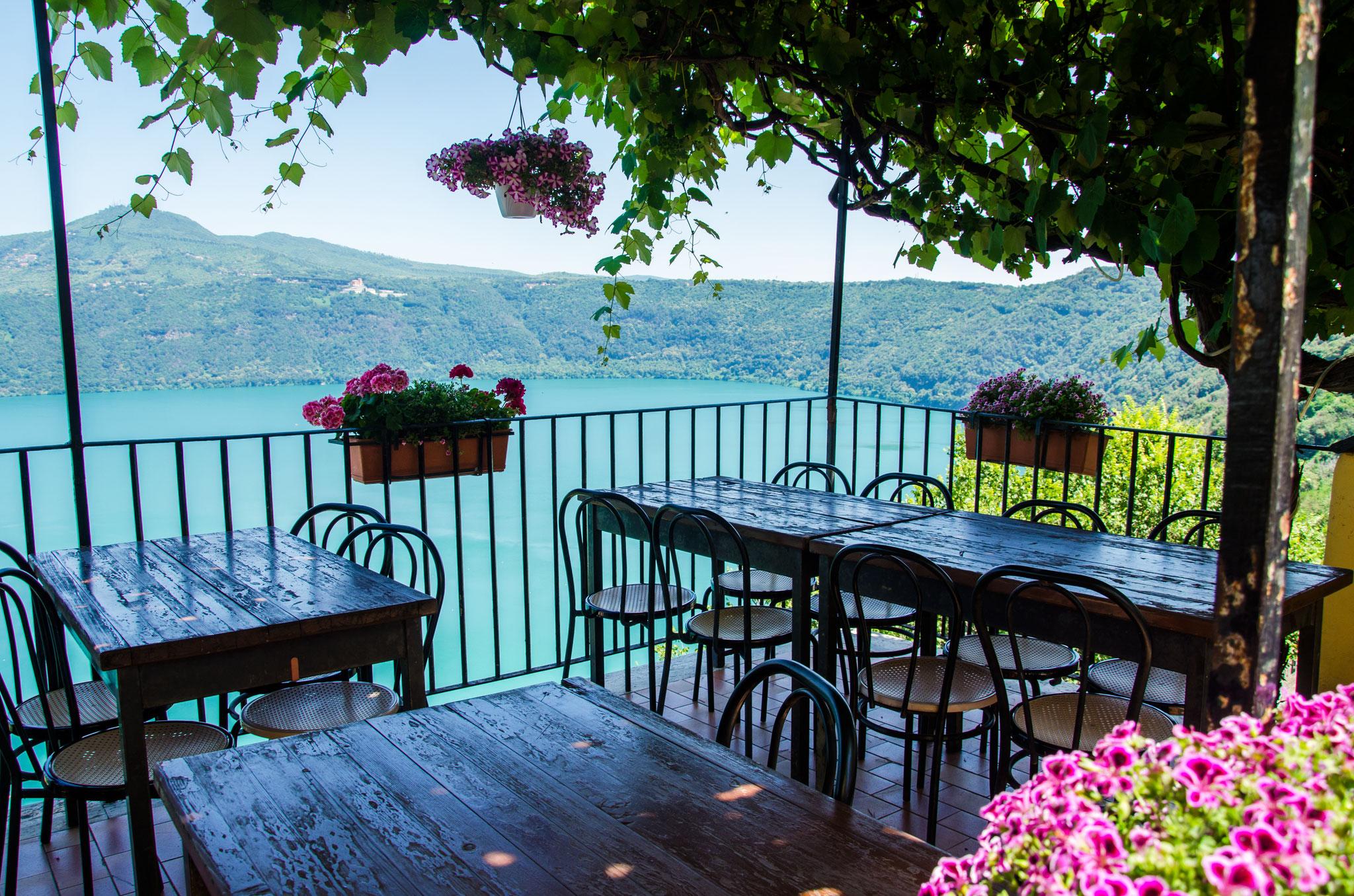 view of the Albano lake
