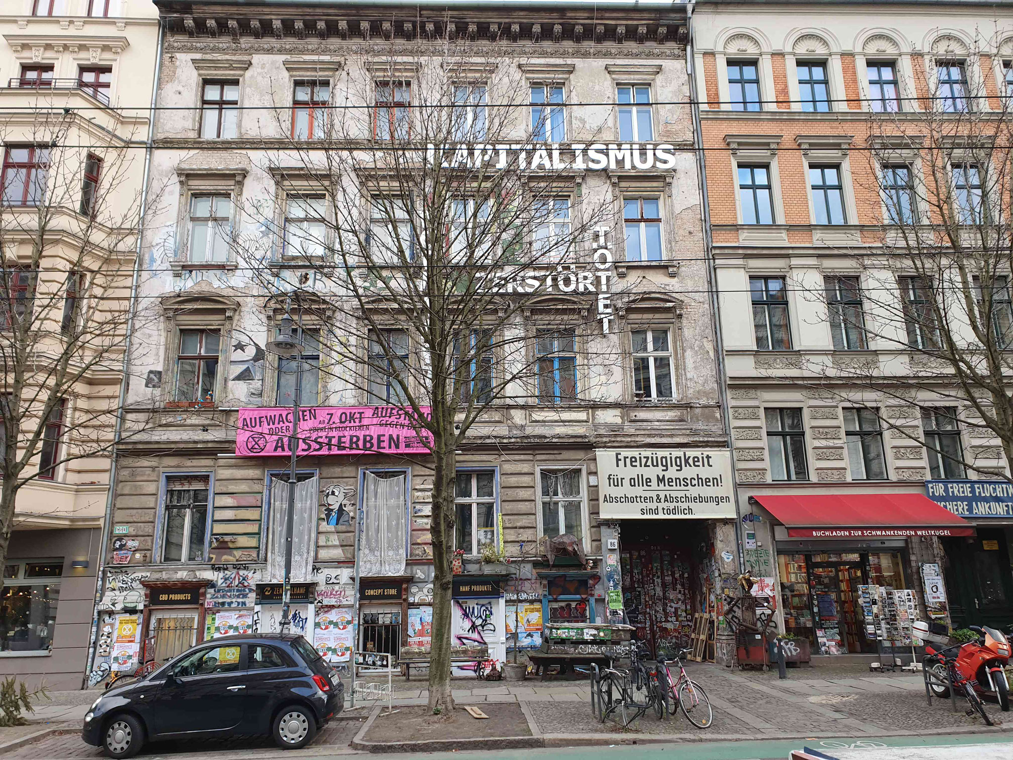 David Schütz' Geburtshaus. Kastanienallee 86