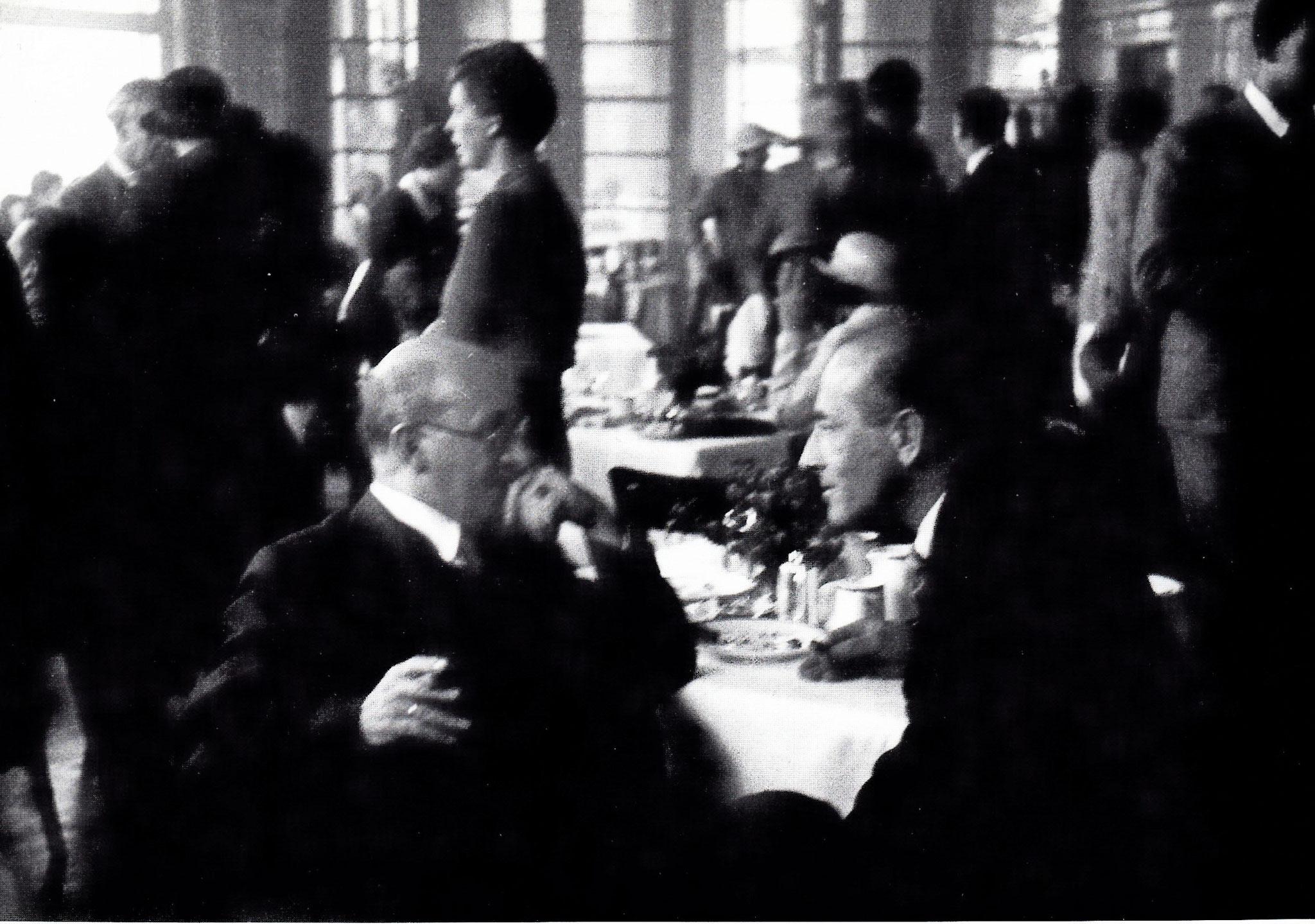 Max Eitingon und Karl Landauer, IPV-Kongress 1934, Luzern