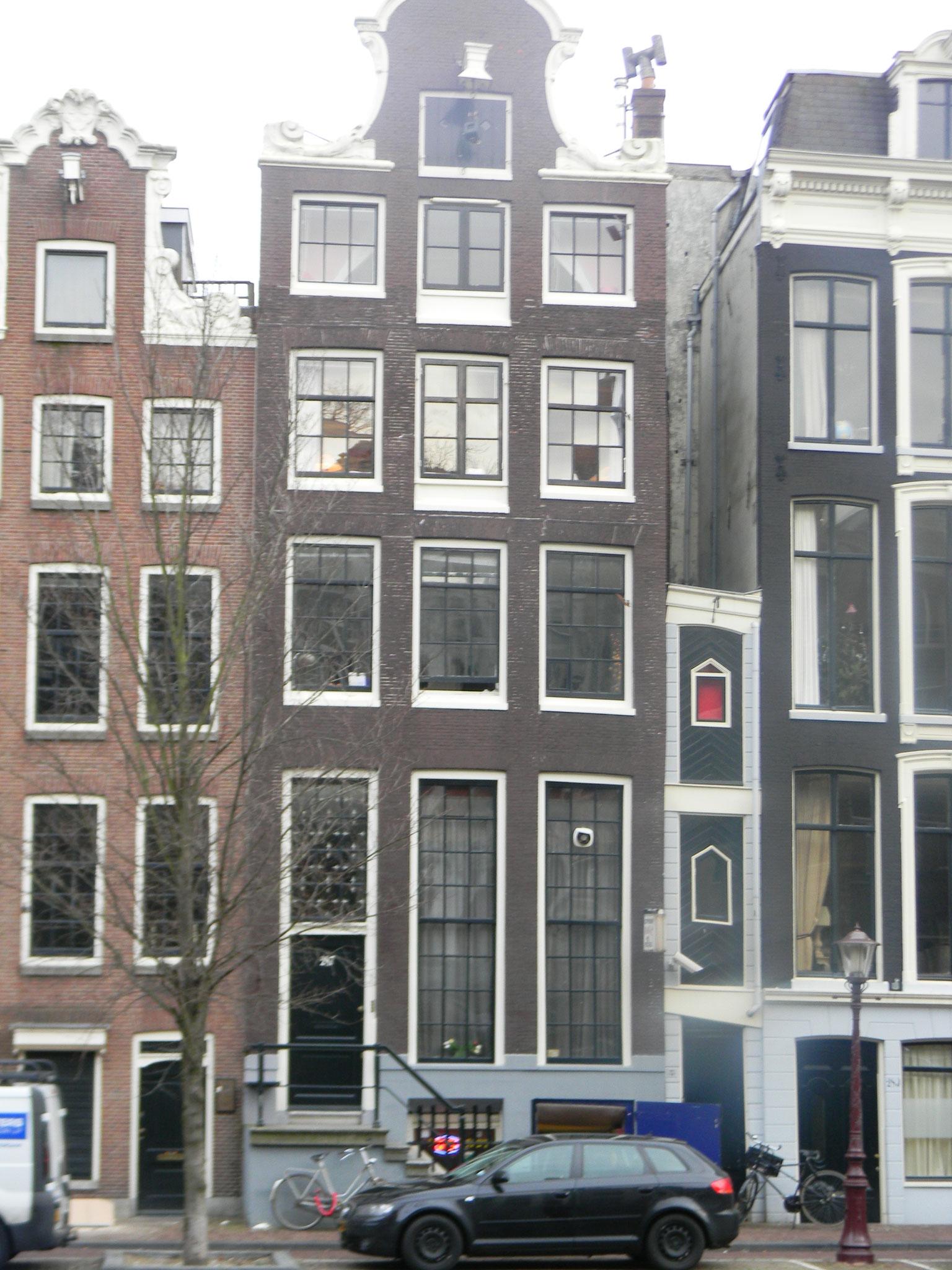 """Herengracht 287, Amsterdam, das """"Untertauchhaus"""""""