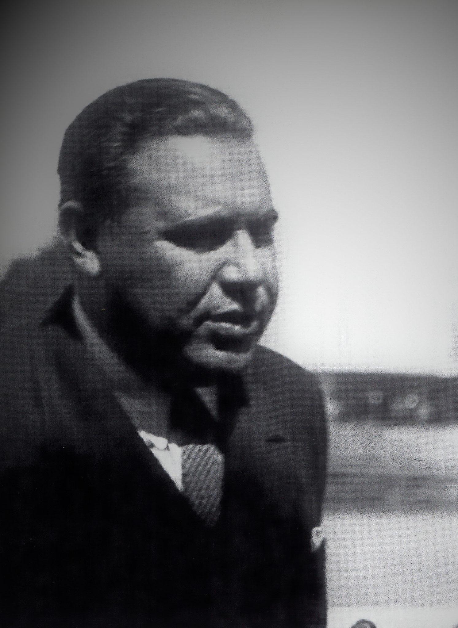 Franz Alexander IPV-Kongress 1934, Luzern
