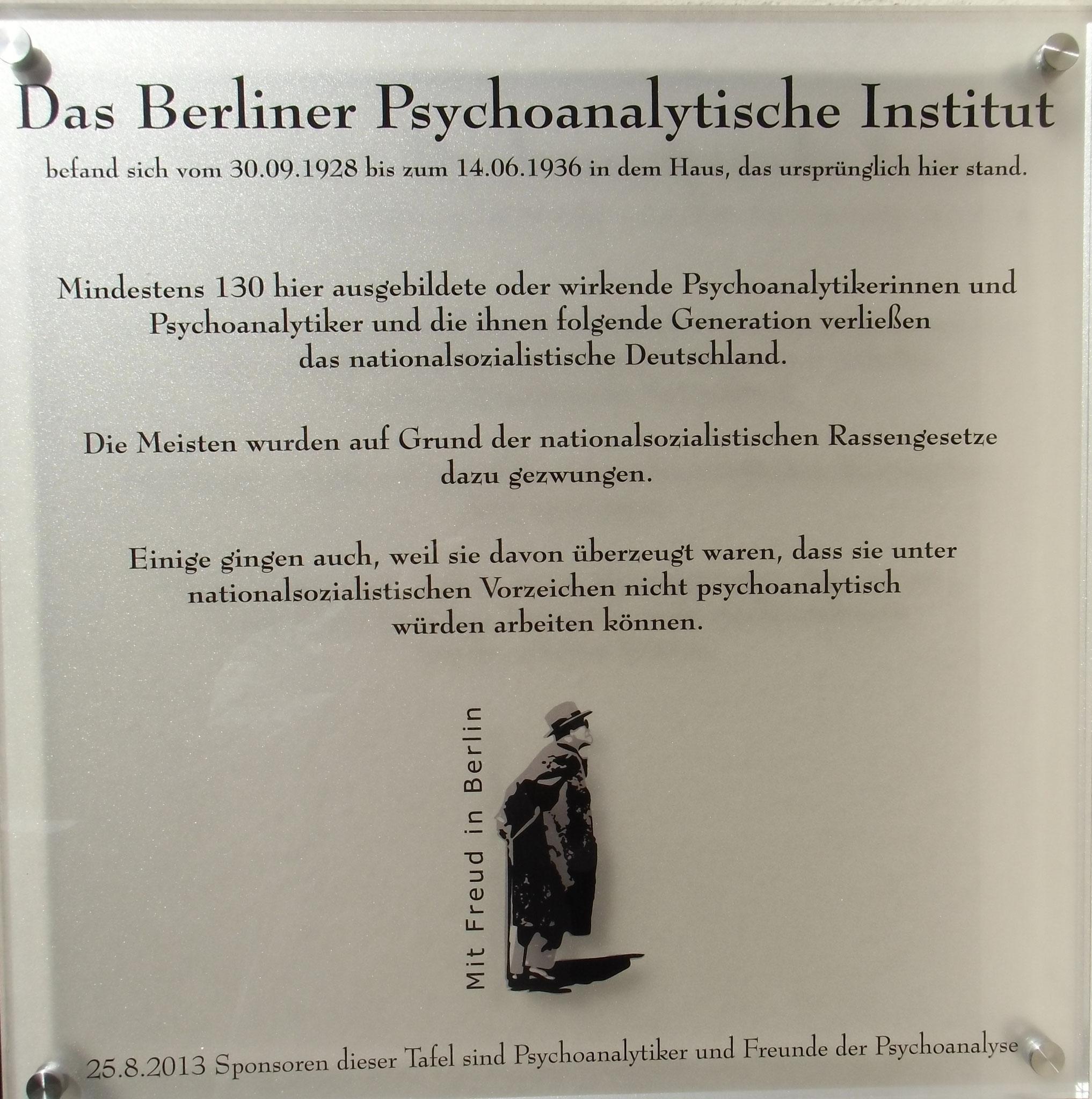 Berliner Psychoanalytisches Institut II