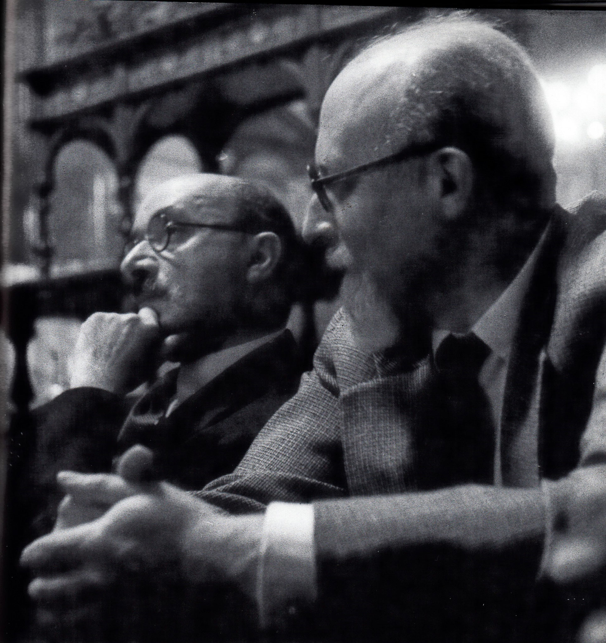 Max Eitingon und Hans Lampl, IPV-Kongress 1934, Luzern
