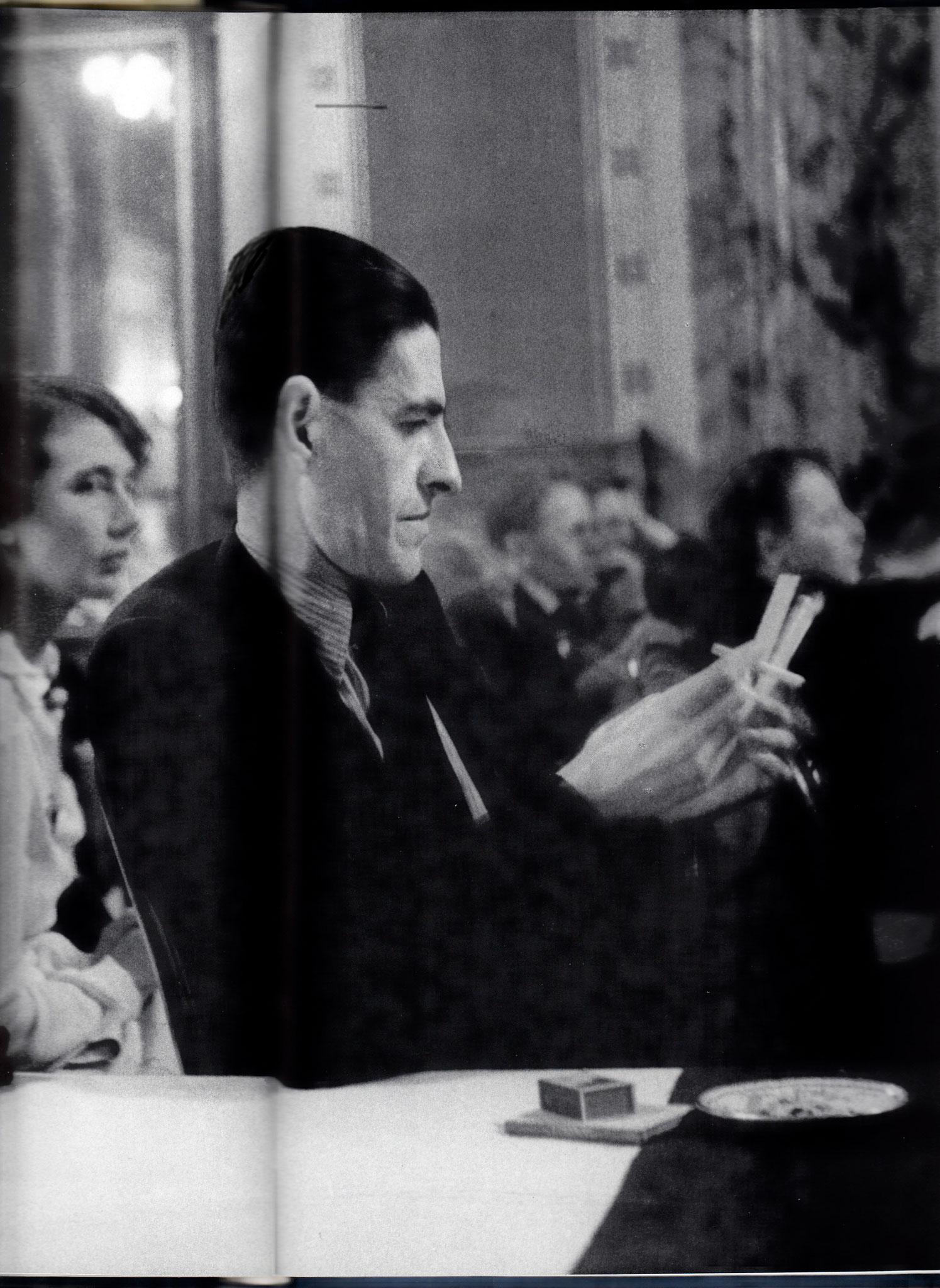 M.Mahler (?) u. Berfeld IPV-Kongress 1934, Luzern