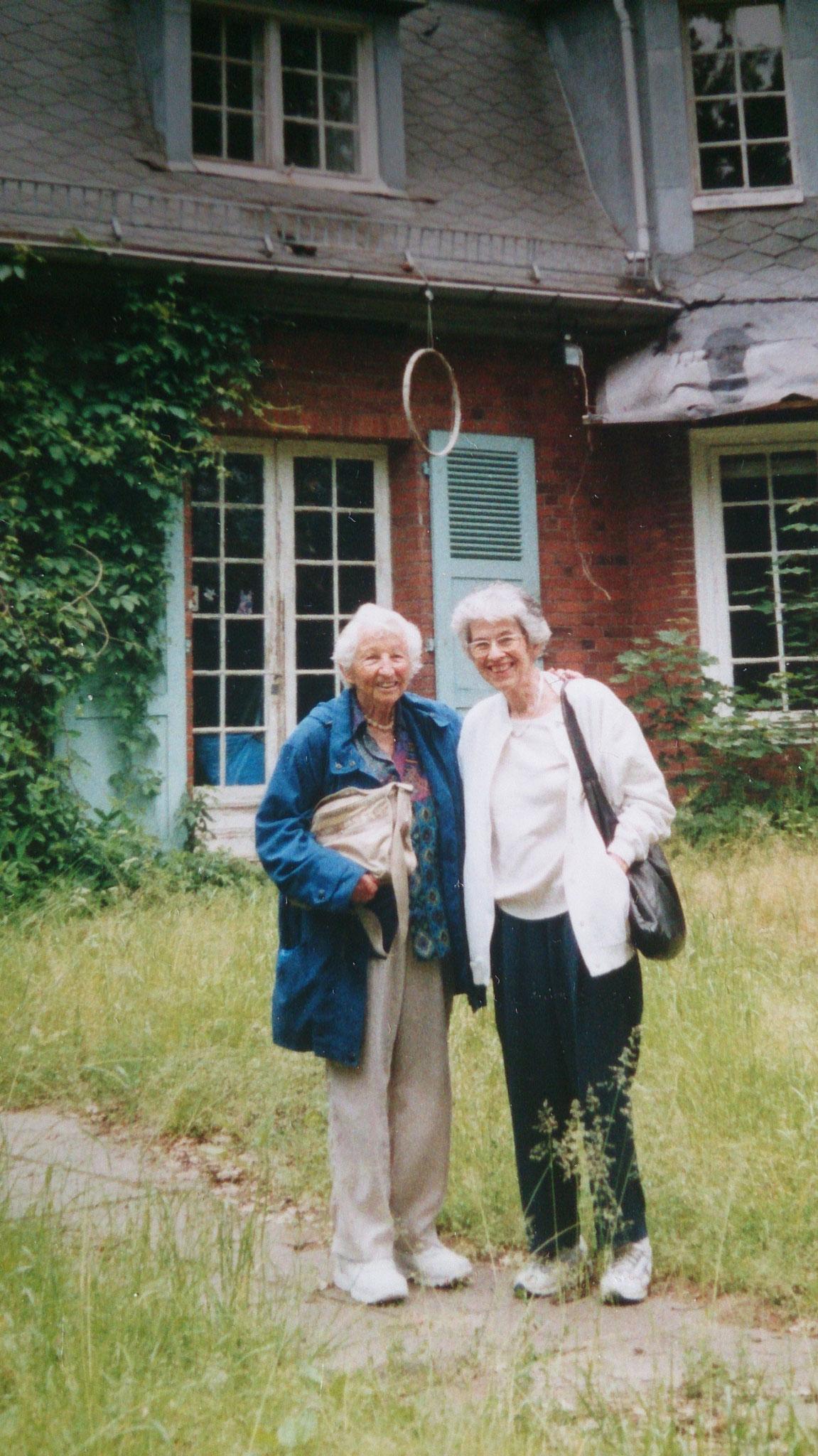 Marianne Horney und Carola Mann