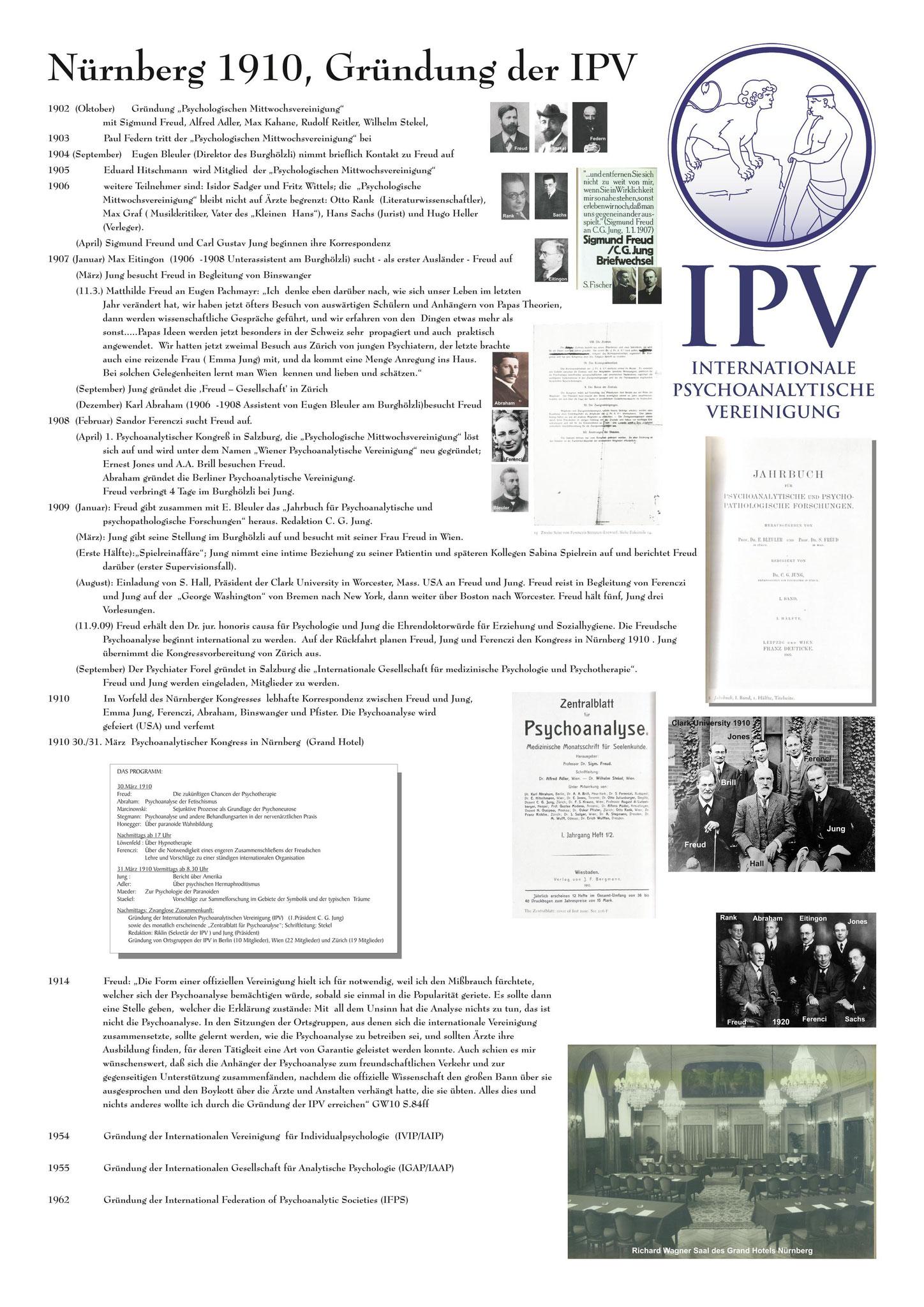 IPV-Gründung 1910 Nürnberg