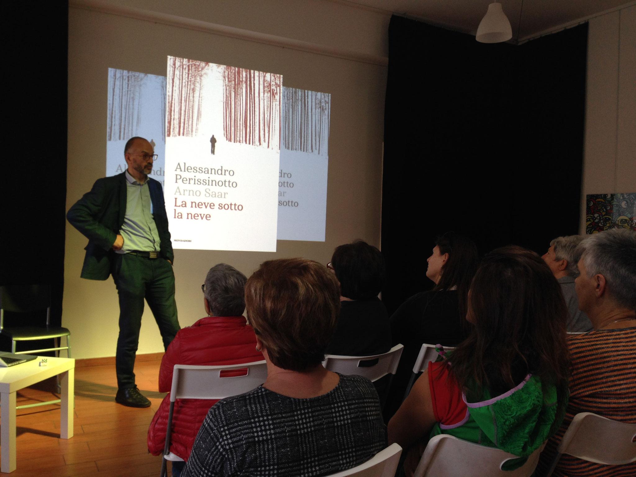 Foto di Silvia Mercuriati - presentazione libro di Alessandro Perissinotto 2018