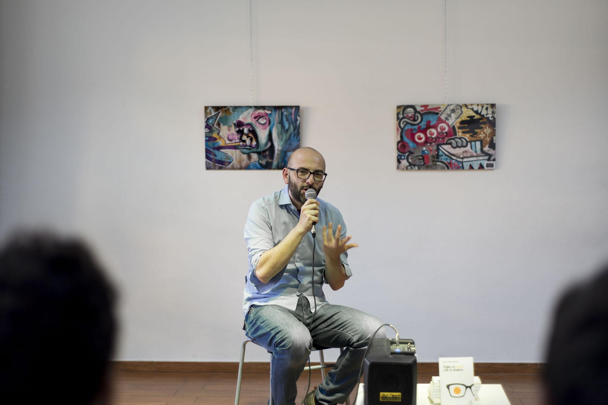 Foto di Marco Iacuaniello - presentazione del libro di Dario Benedetto 2018