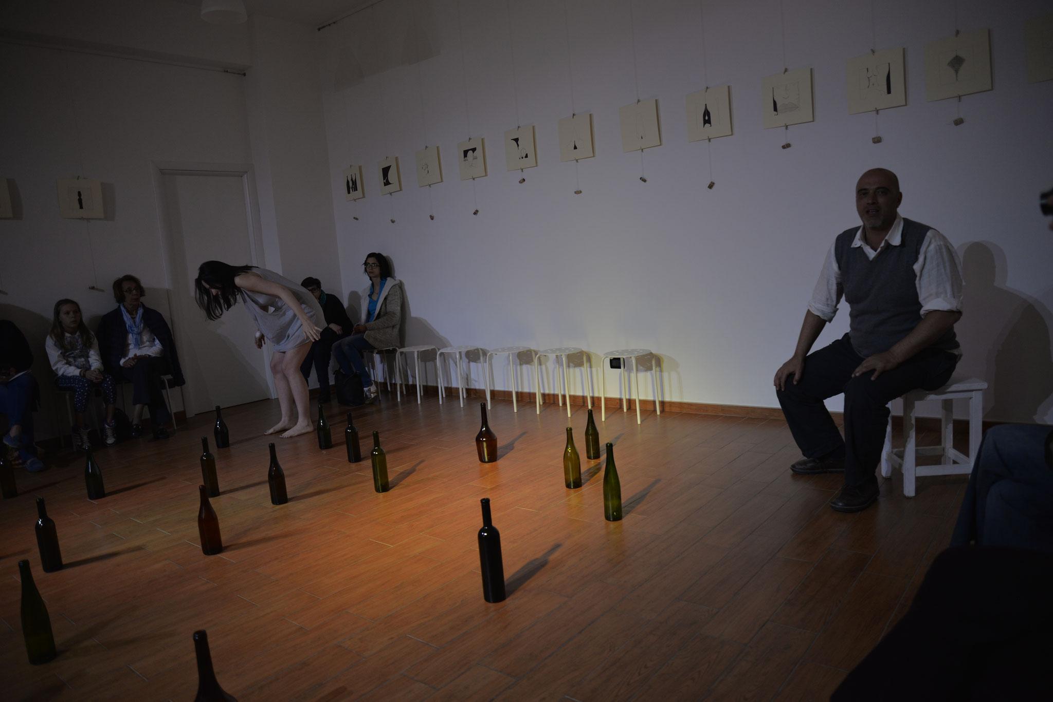 Foto di Marco Iacuaniello - Performance LA TAVRENA DI BREST di Salvatore Smedile, Alberto Valente e Siria Capellano
