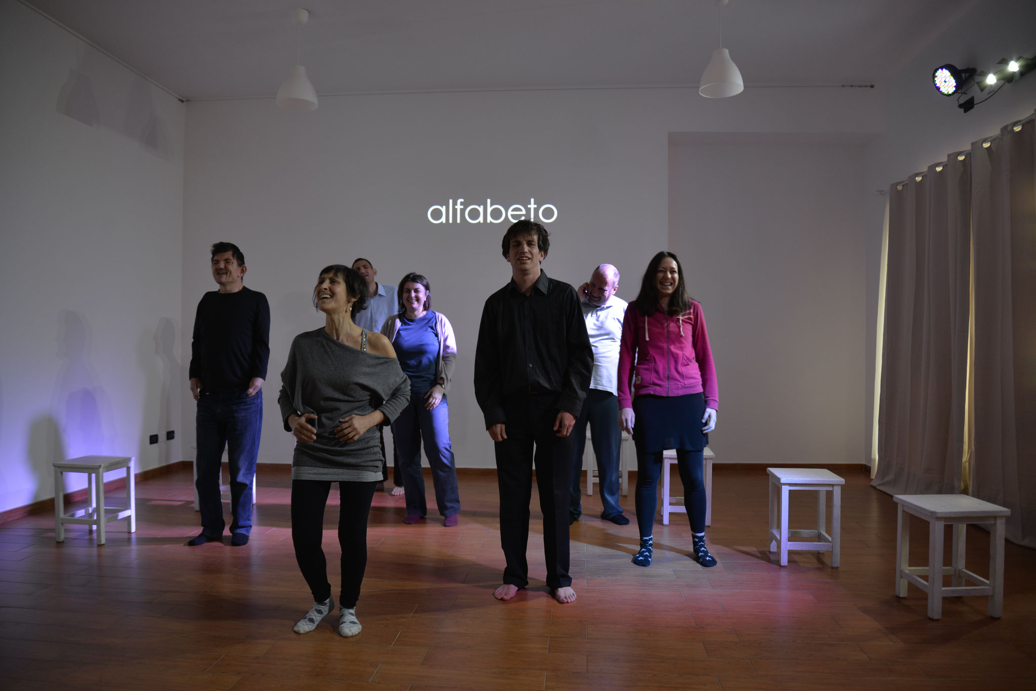 Foto di Marco Iacuaniello - Performance ALFABETO di TRIBALICO 2016