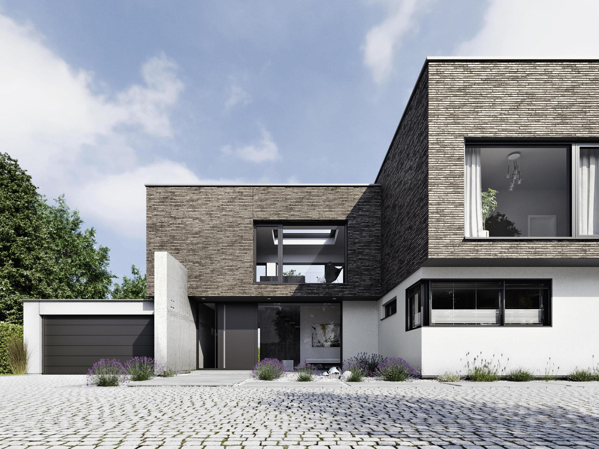 Schüco Aluminium Haustüren günstig Online kaufen