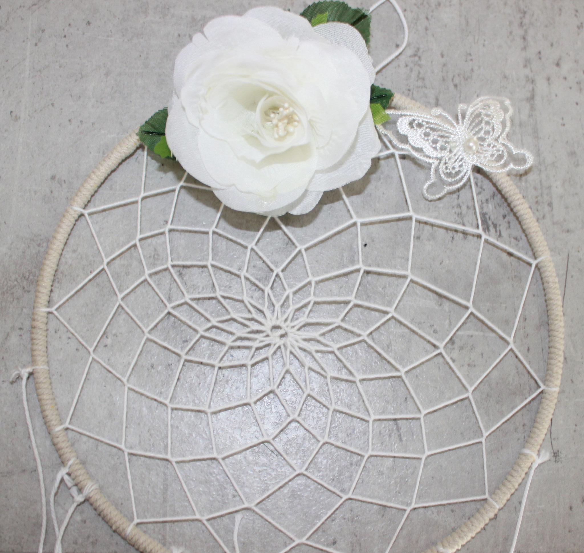 Kit DIY attrape rêve floral