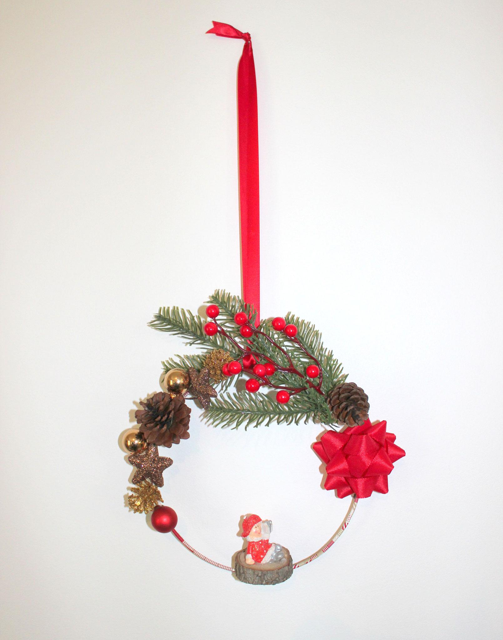 Atelier DIY Couronne de Noël