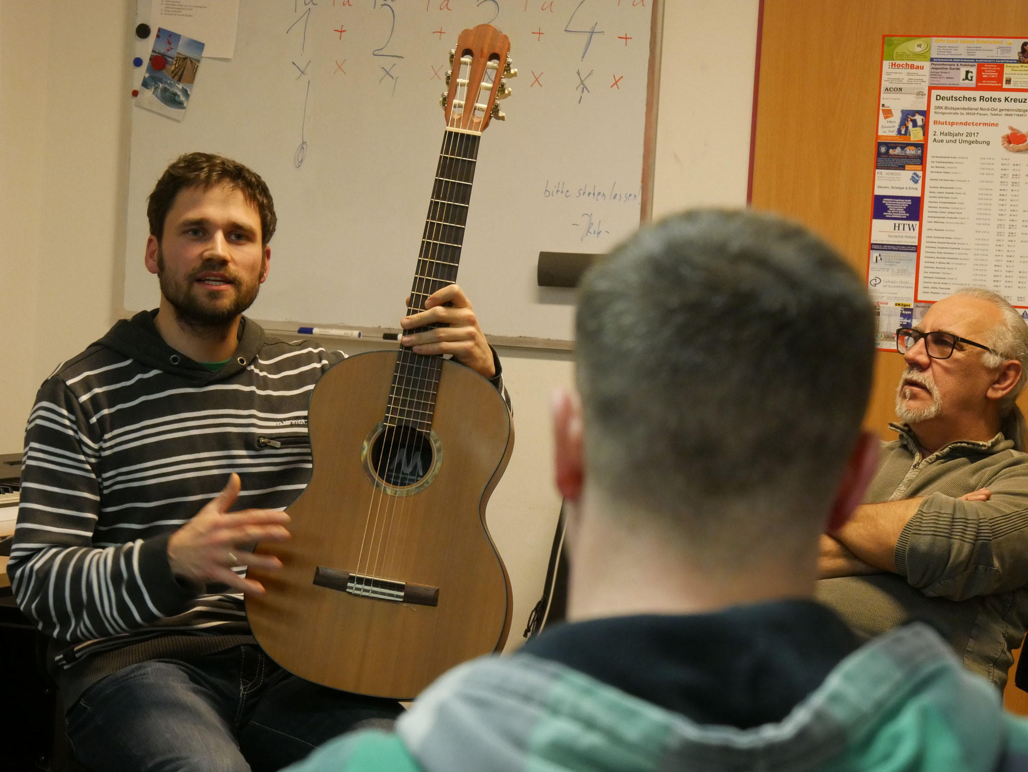 "Workshop ""Gitarrentechnik"" mit Roy Fankhänel"