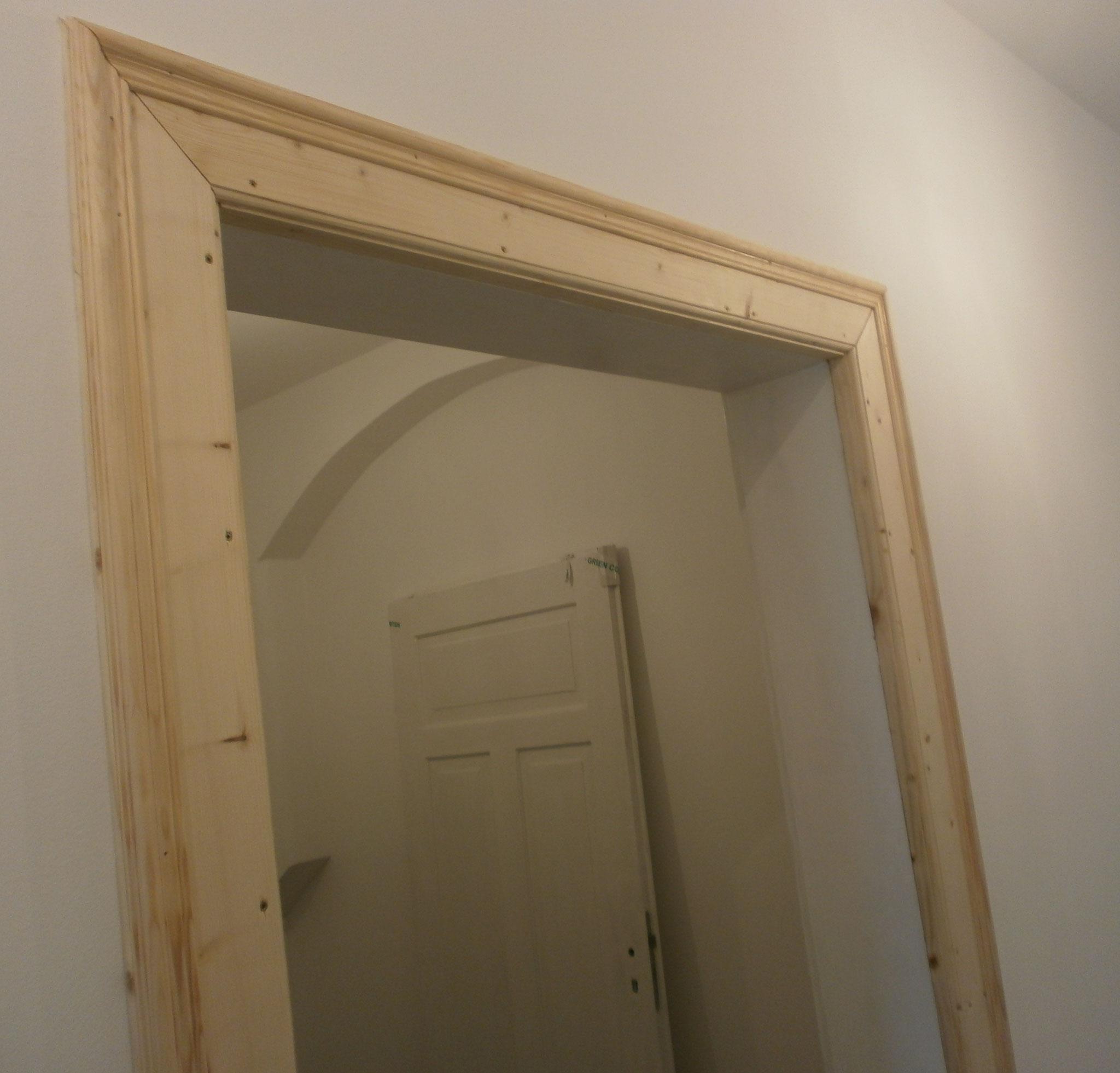 Erneuerung Holztürrahmen