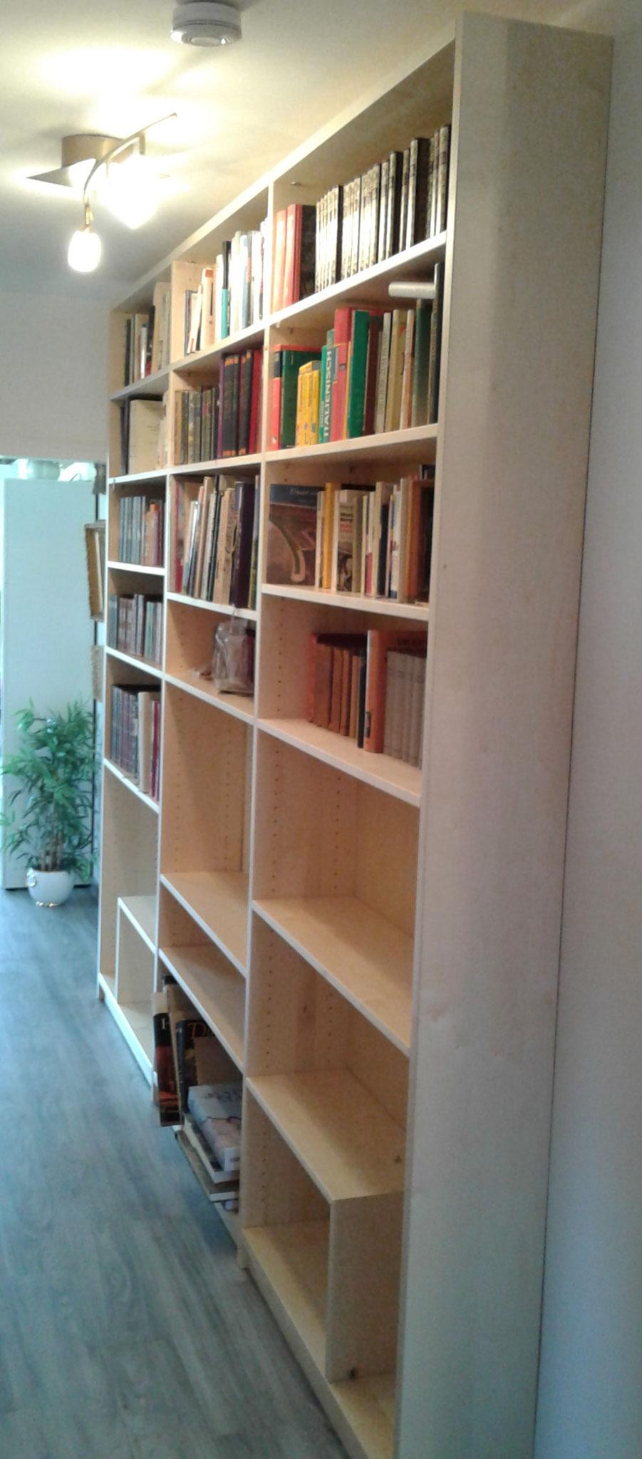 Maßanfertigung Bücherregal