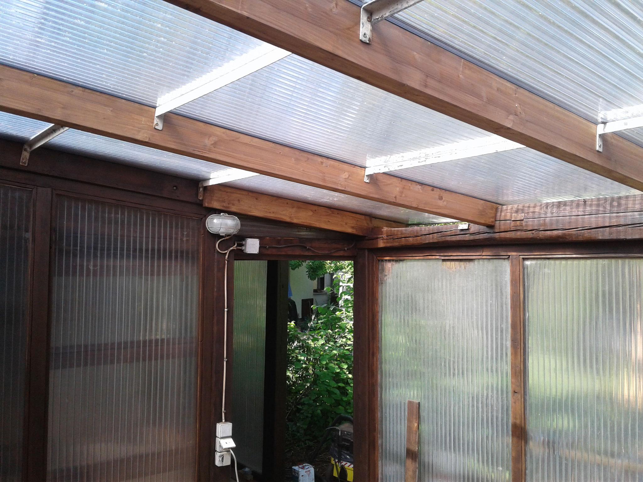 Sanierung Gartenhaus