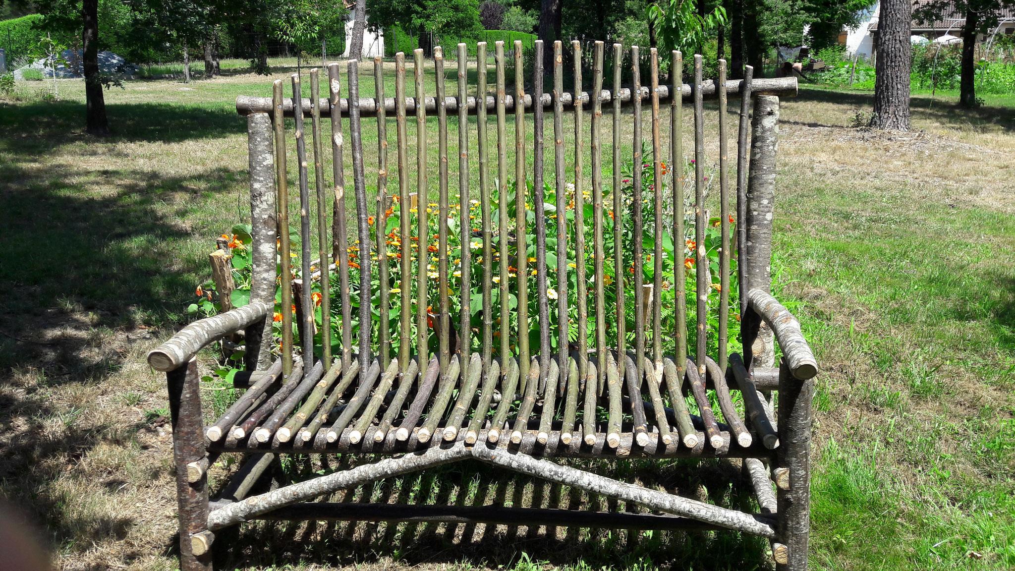 Mobilier Bois Rond - Beleyme paysage