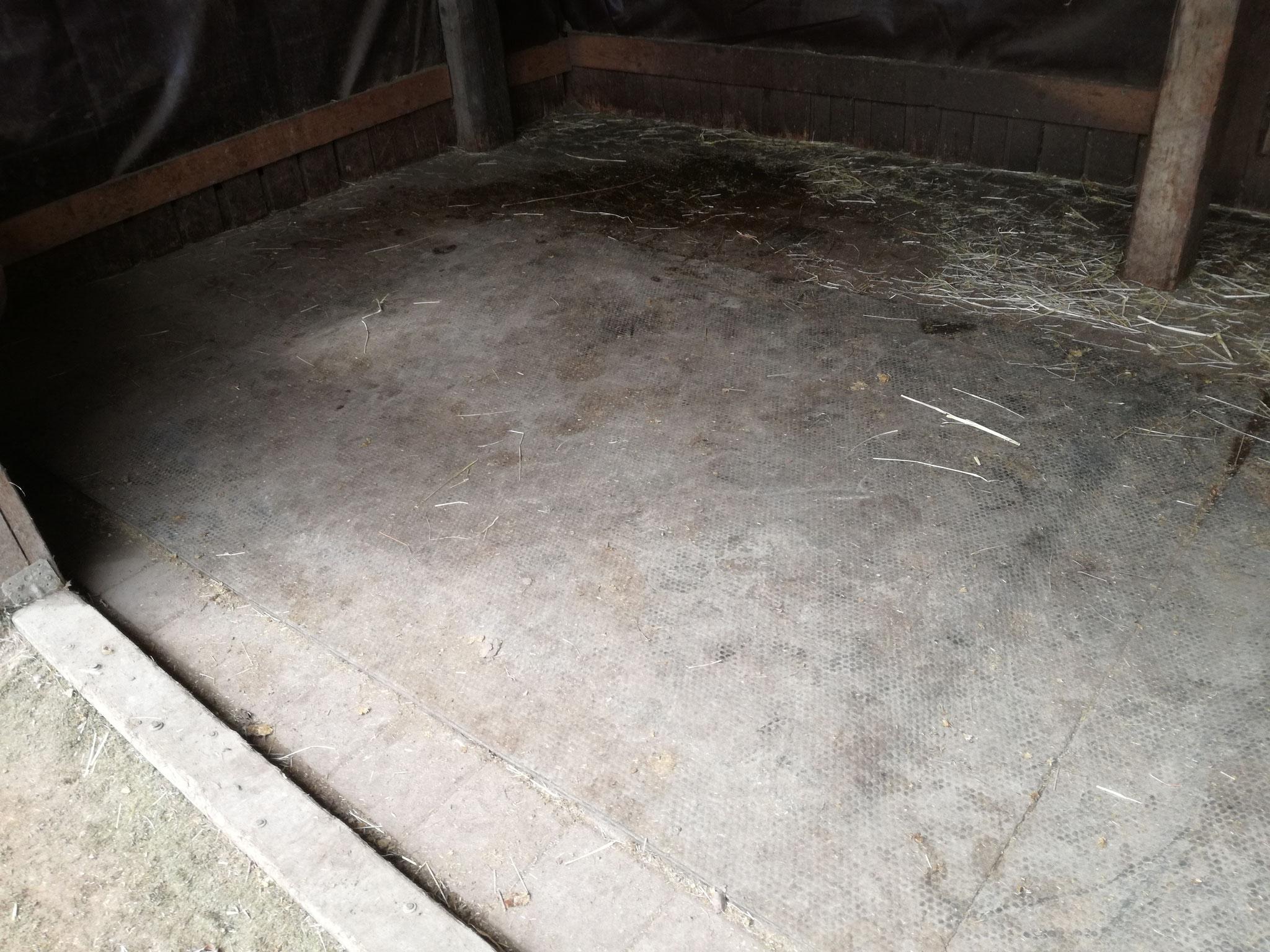 So sehen die Softbetten nach 4 Jahren gebrauch aus
