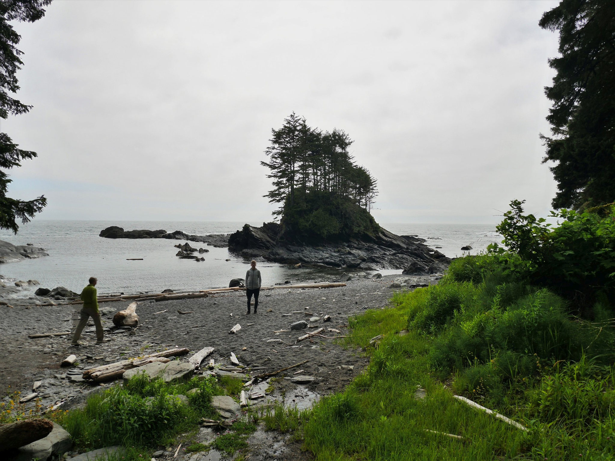 Kleine Insel an der Botanical Bay