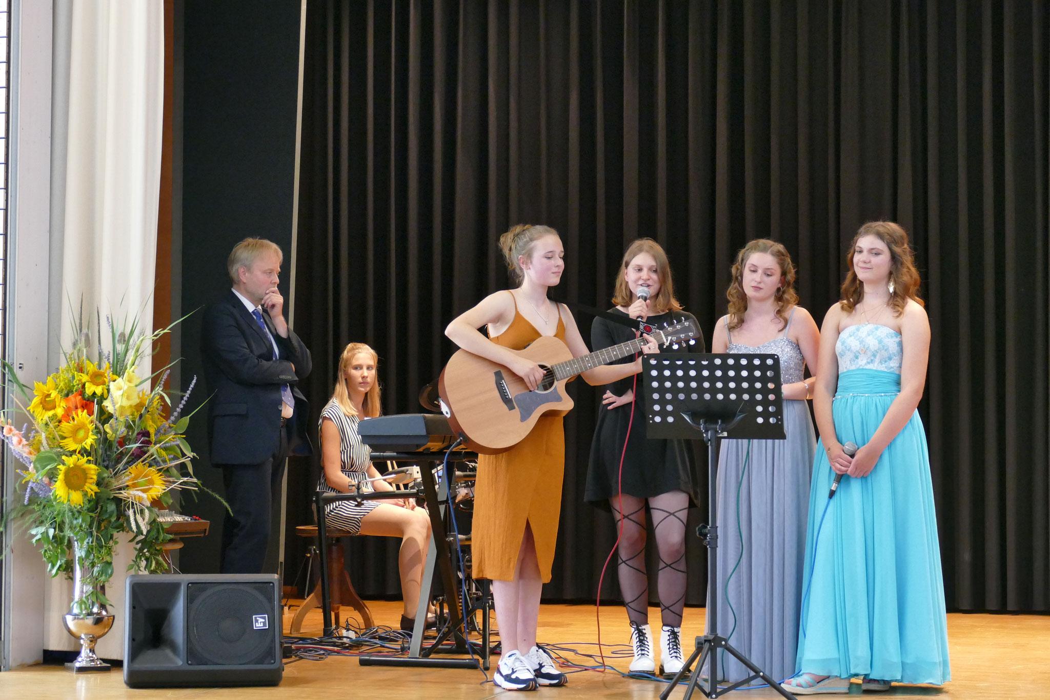 Musikalischer Beitrag der Absolventinnen