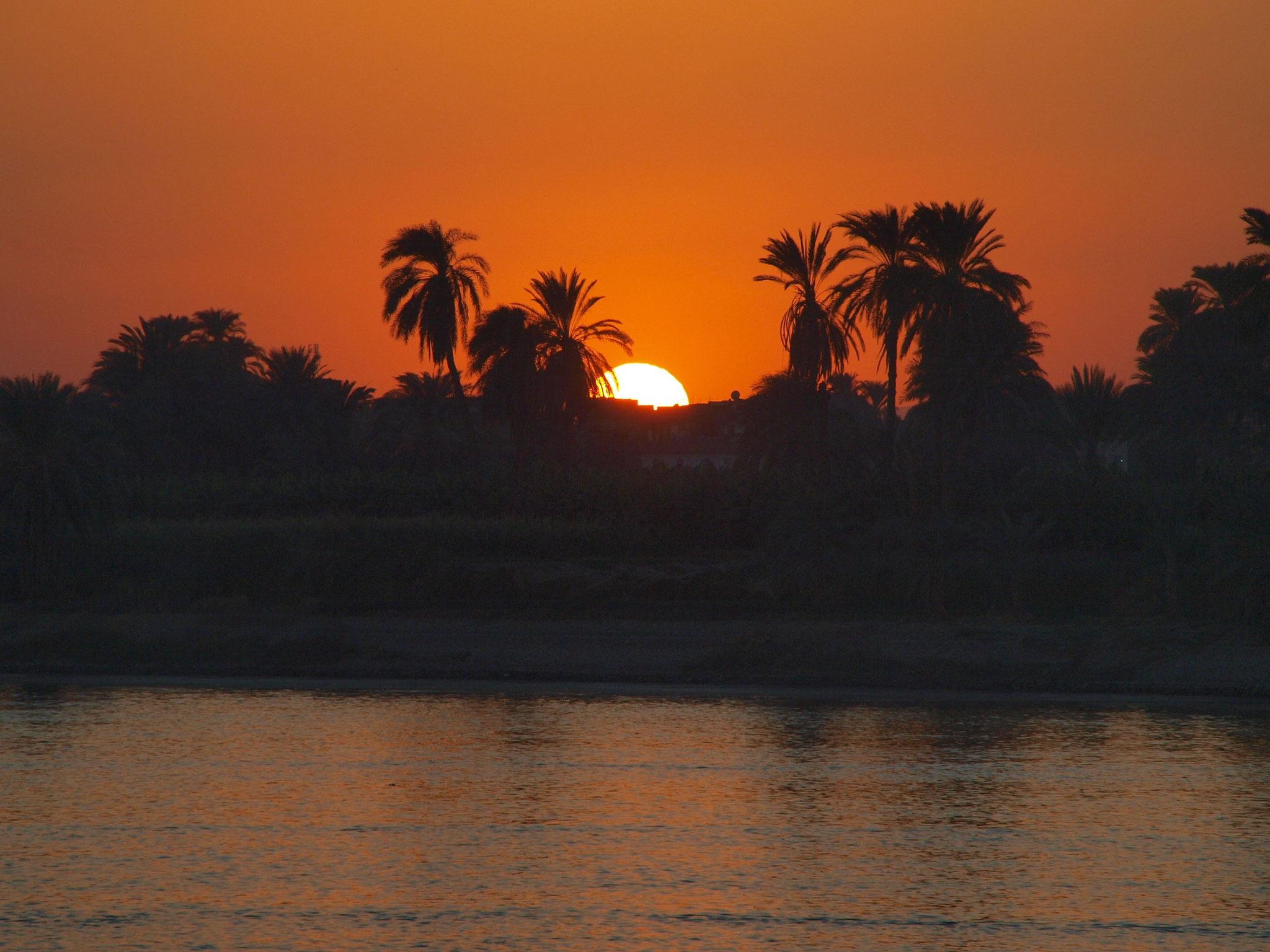 Ägypten, Nilufer