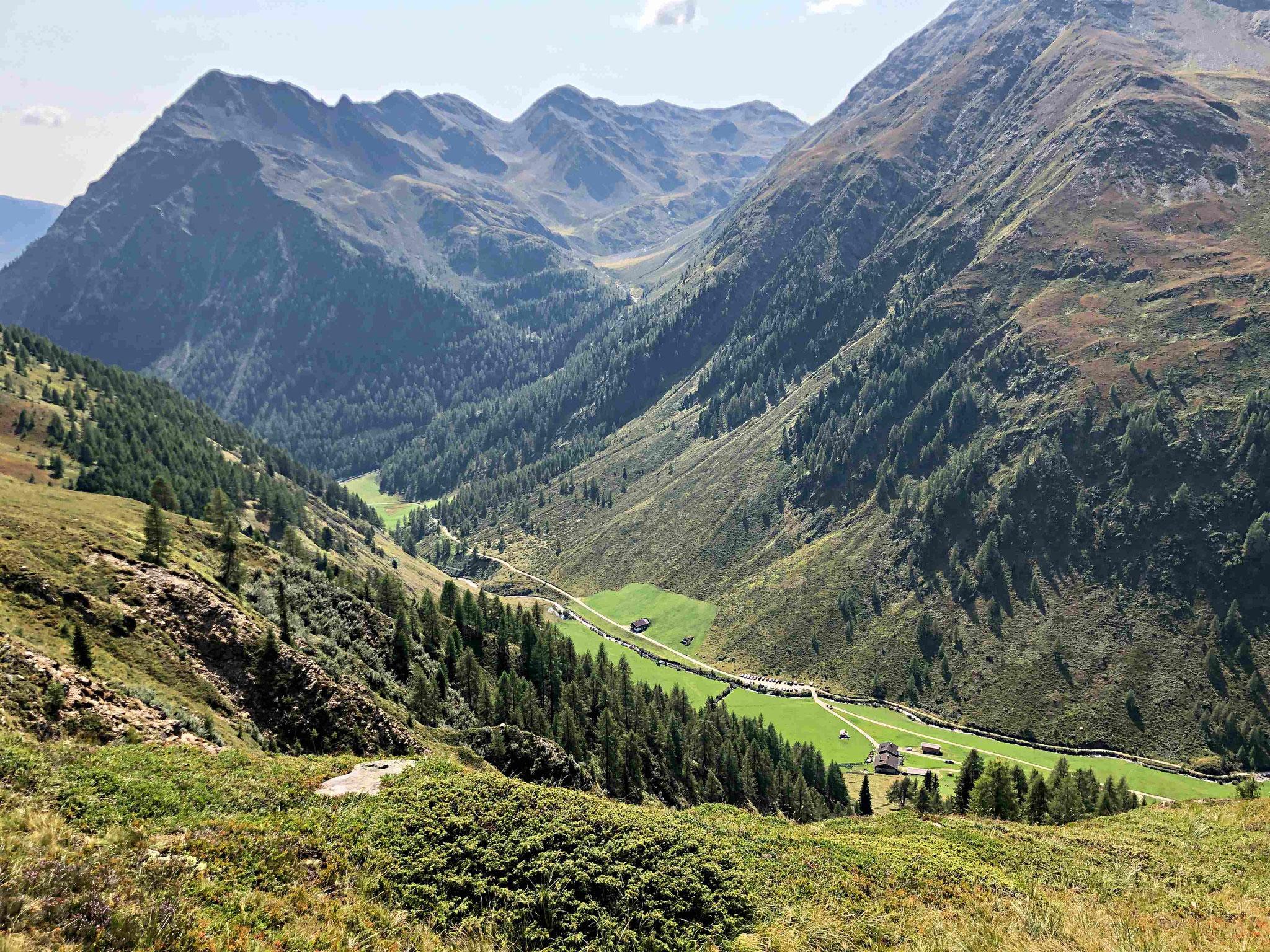 Blick zum Grabenstein (2665 m)