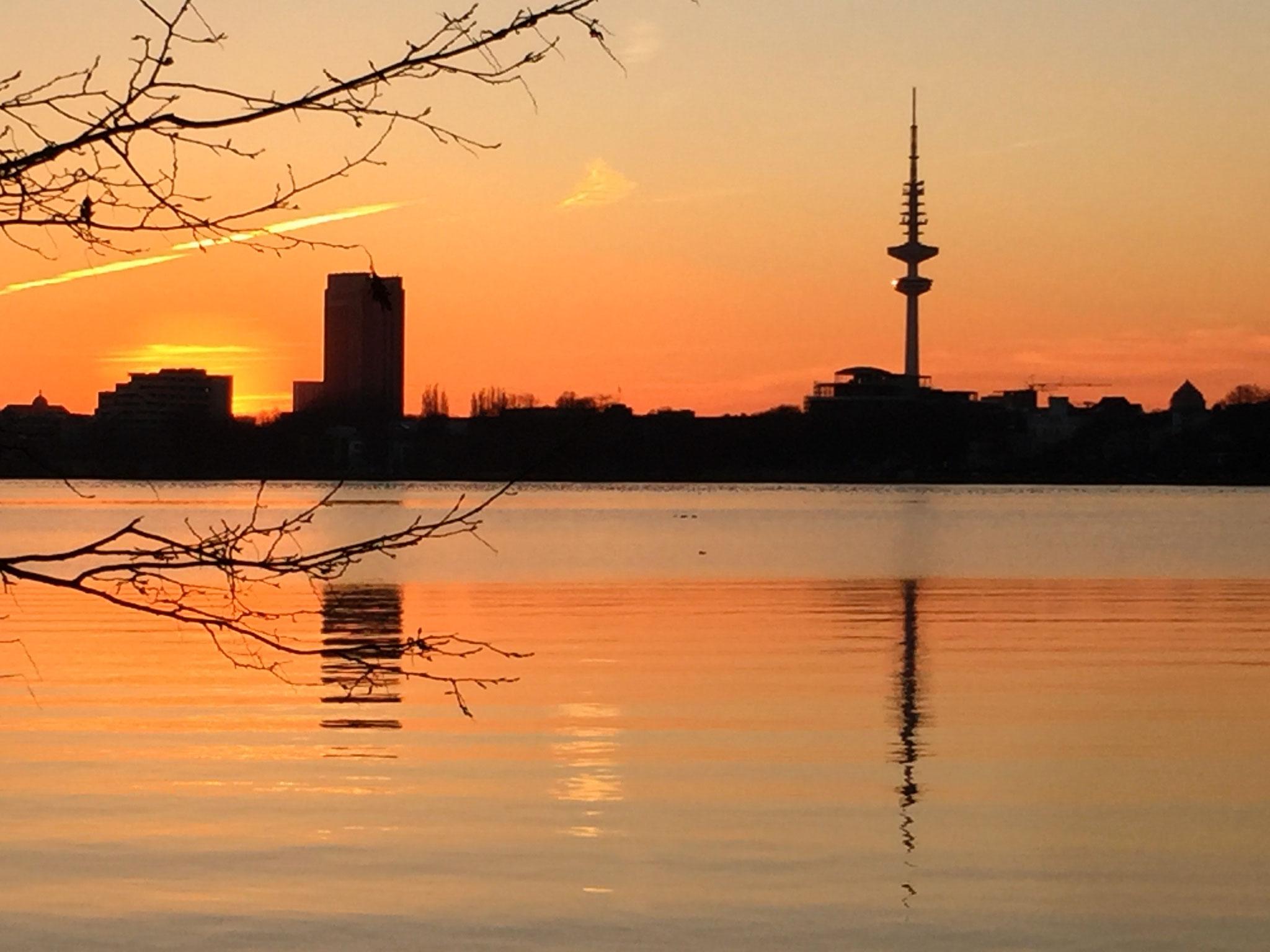 Hamburg, Außenalster