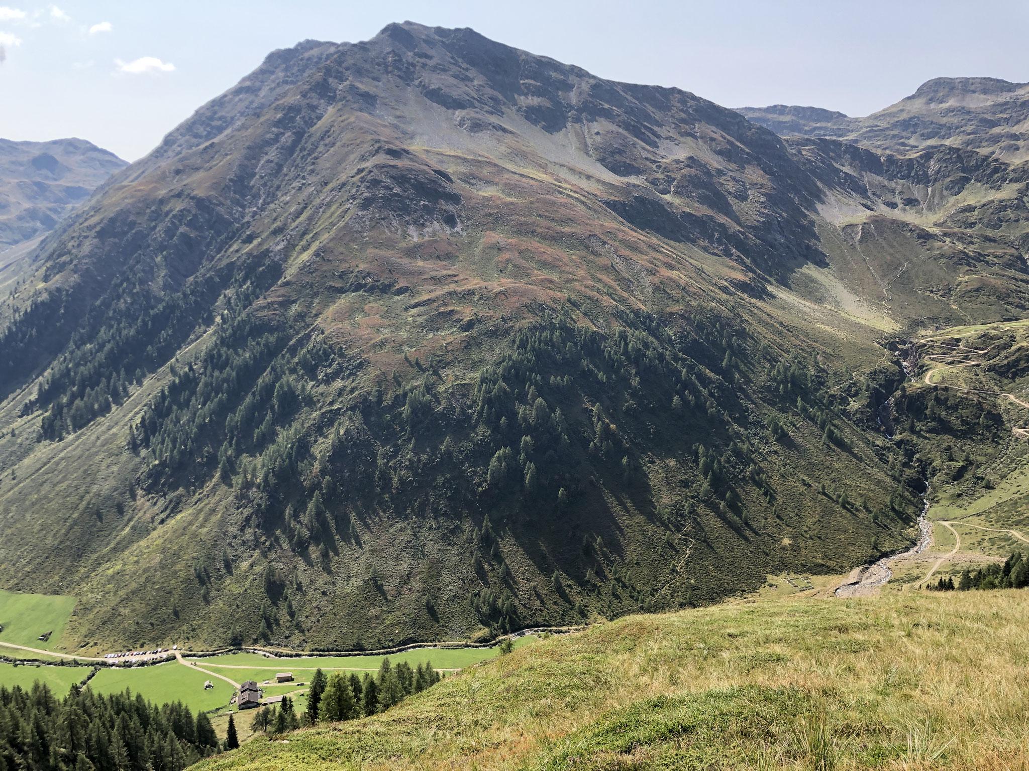 Blick zur Hochgrabe (2951 m)