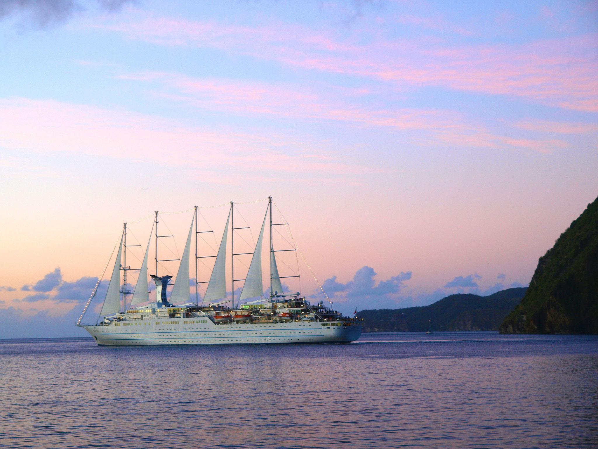 St. Lucia, Großsegler