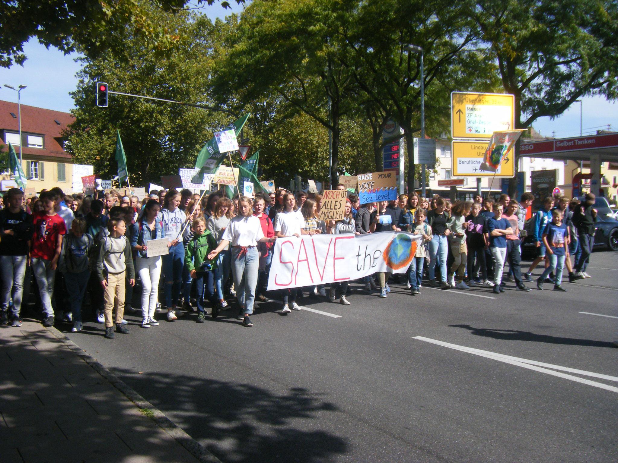 Klimaschutz, ein Thema, das aktuell alle Generationen auf die Straße treibt