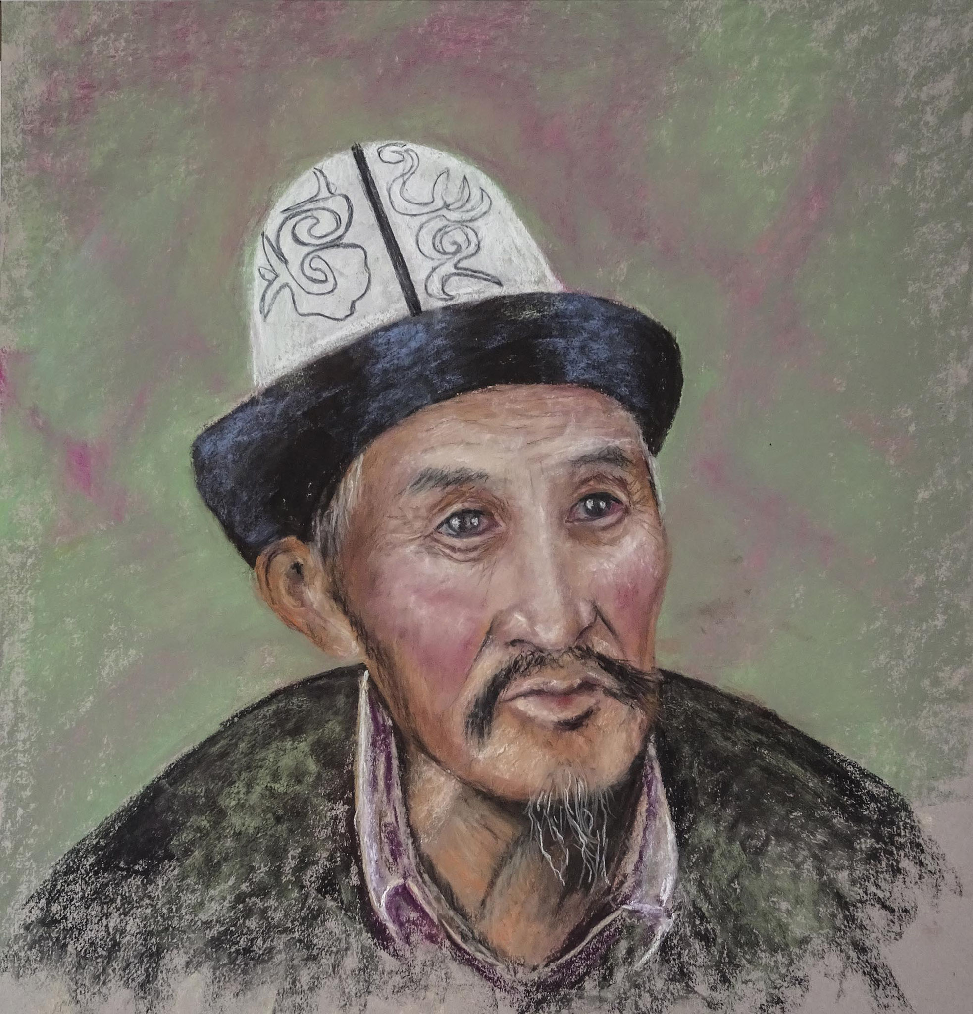 "Martine Guénard   ""Ouzbek"""