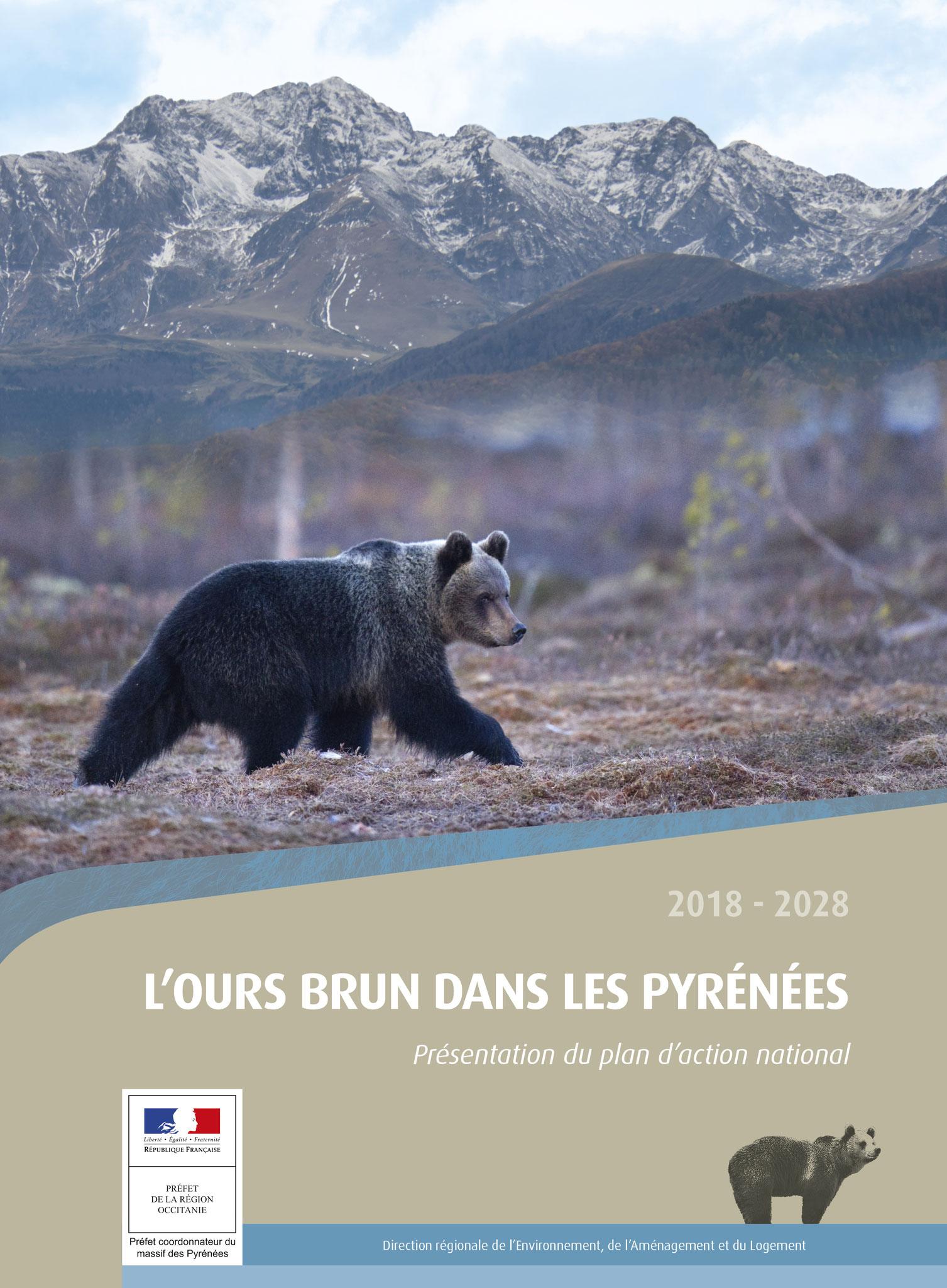 Brochure 12 pages Ours brun dans les Pyrénées 2018 - DREAL Occitanie