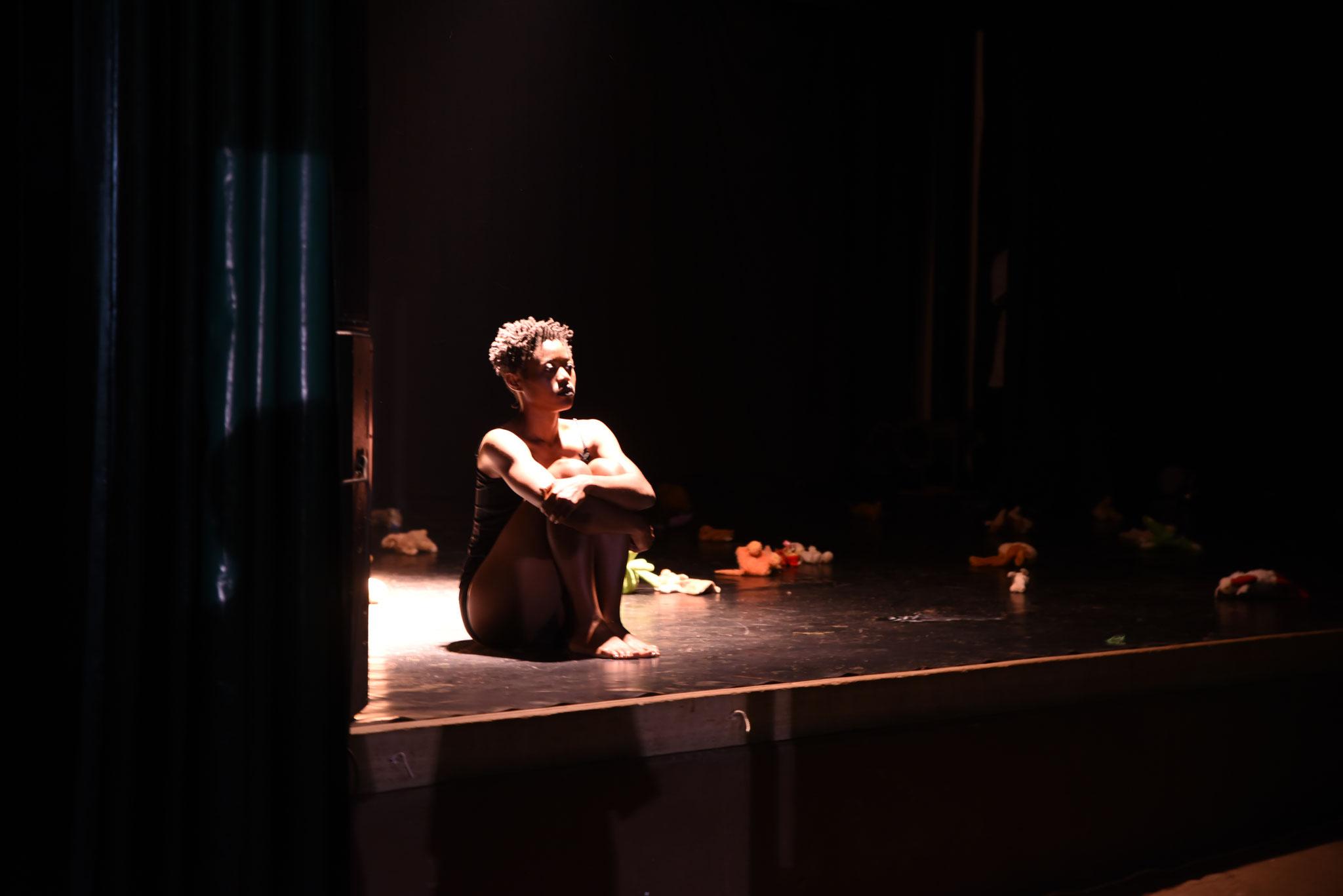 Vanaissance (Un cri dans la nuit) Performance by Christian Etongo (with Gabriella Badjeck) 2016