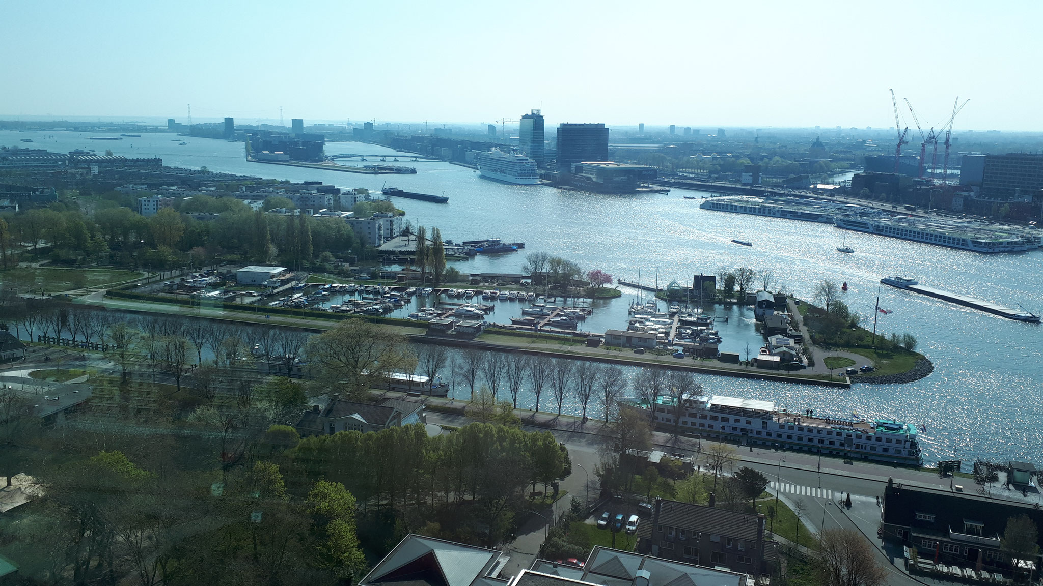 Blick Richtung Hafen