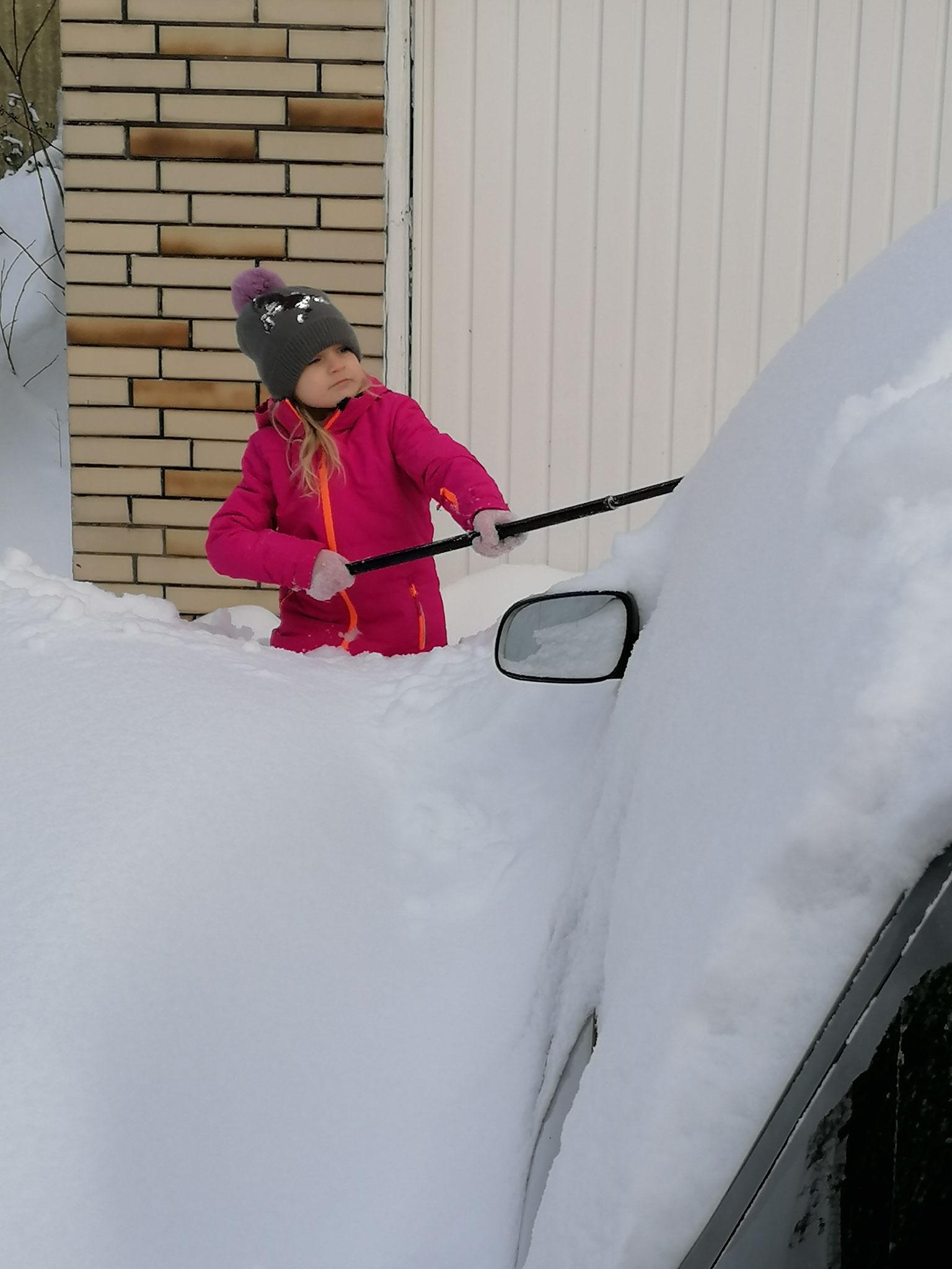 Schneearbeit
