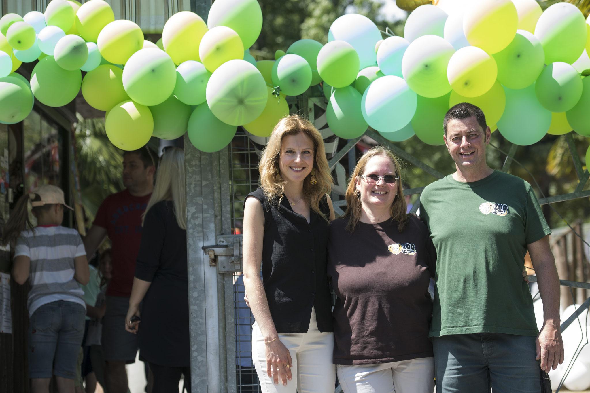La Direzione dello Zoo con Julie Arlin