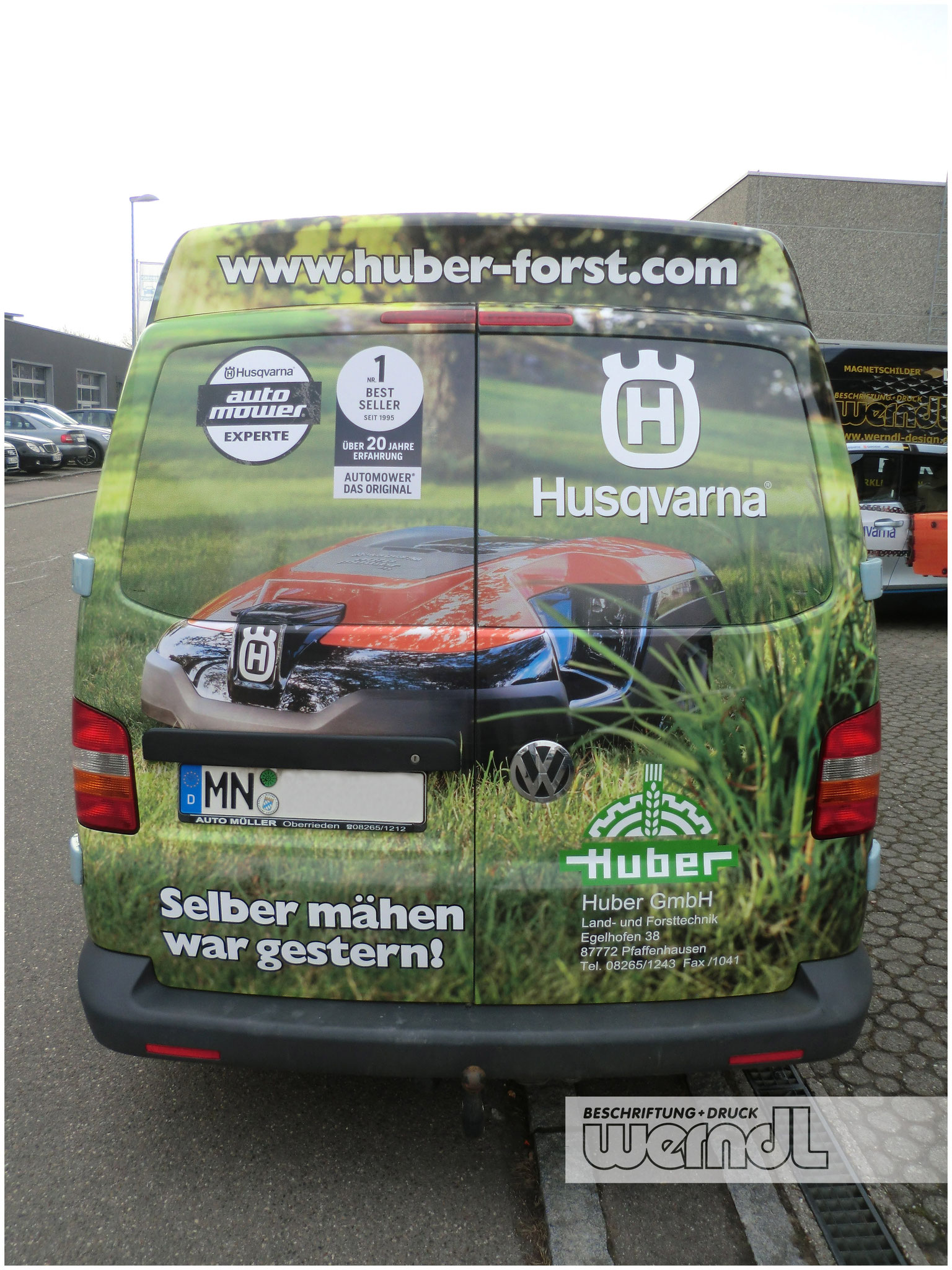 Fahrzeugvollverklebung VW Transporter