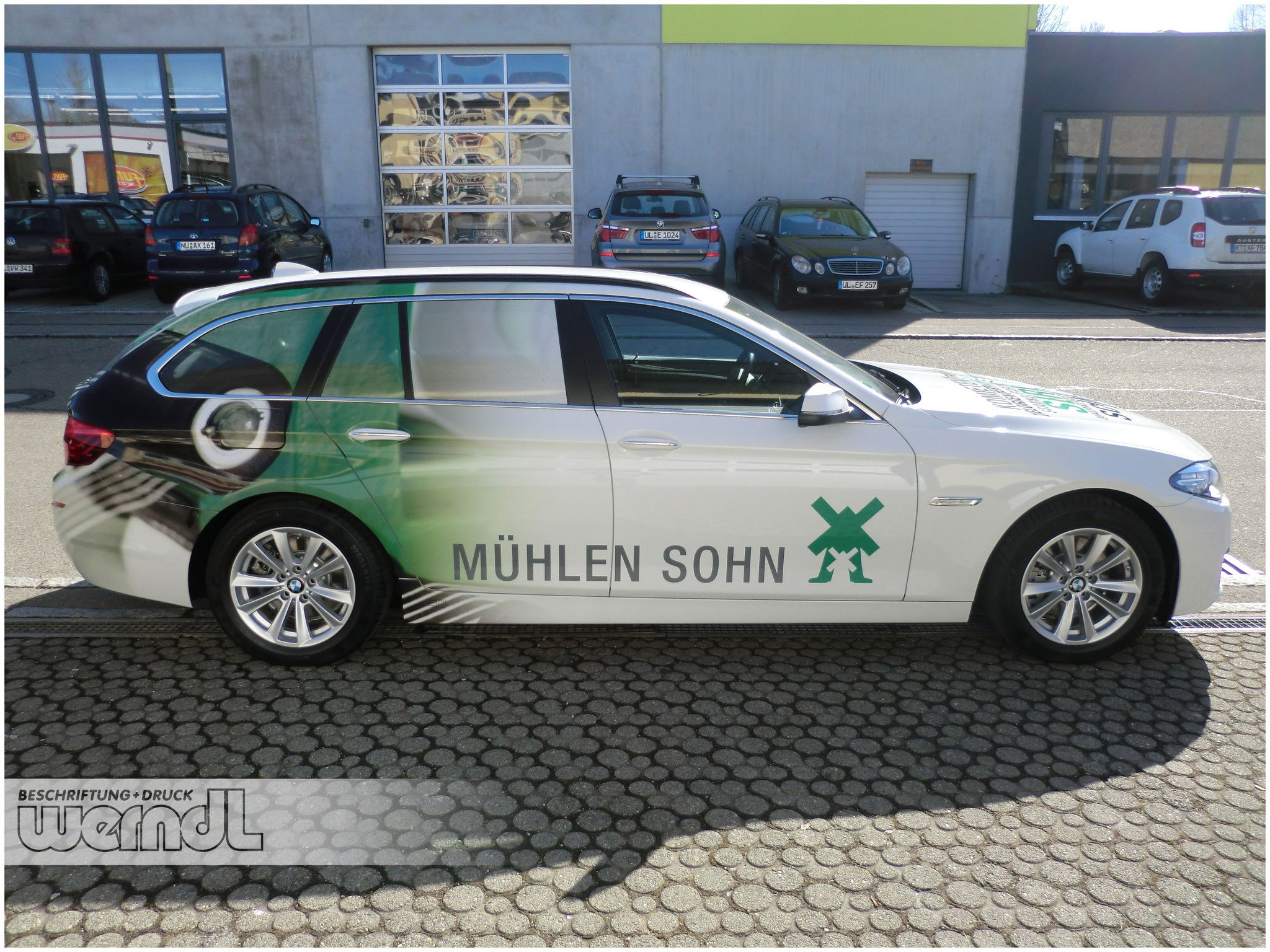 Fahrzeugvollverklebung BMW 5er Touring