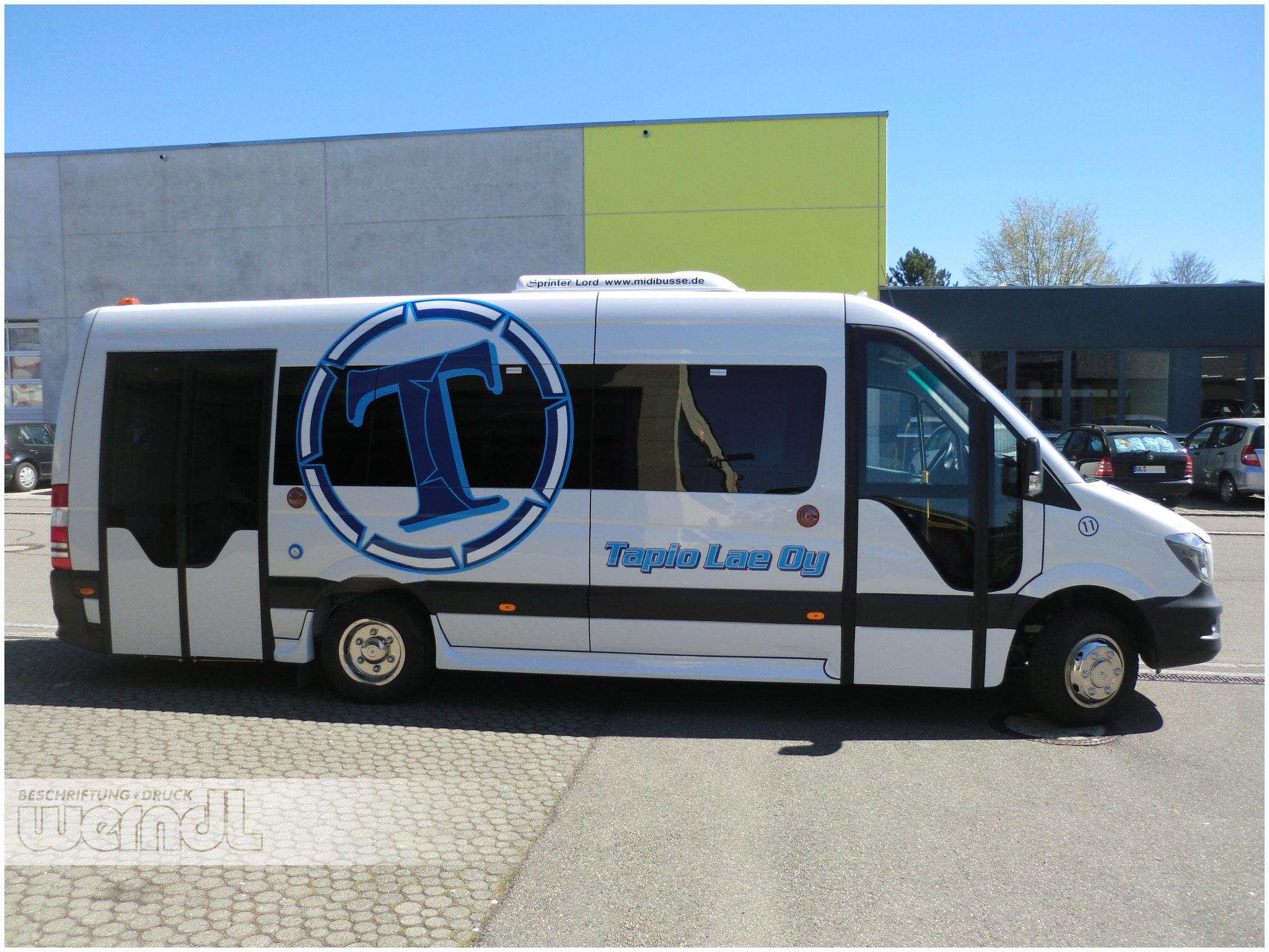Midibus Folierung für Finnland