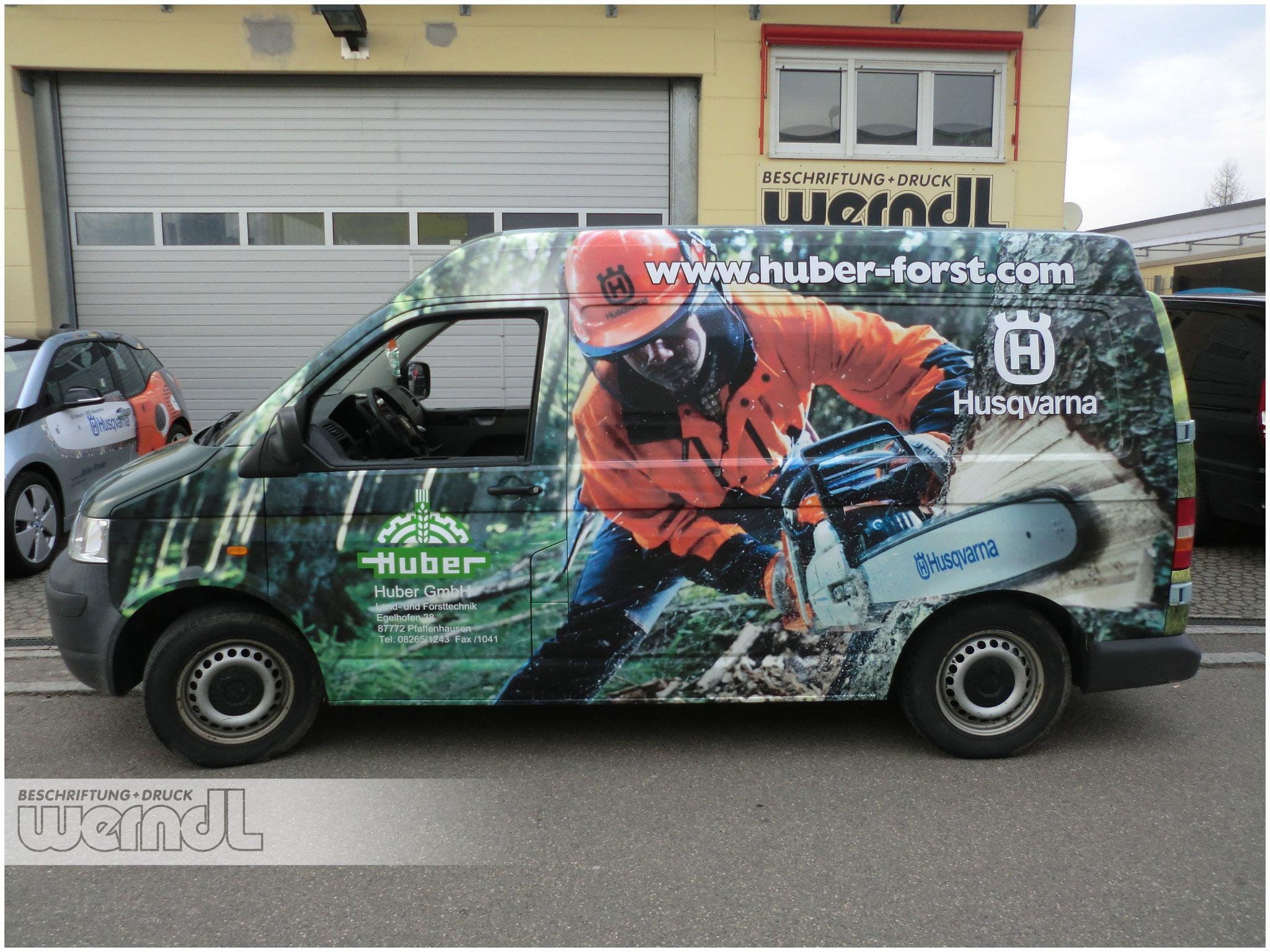 Fahrzeugvollverklebung VW Transporter