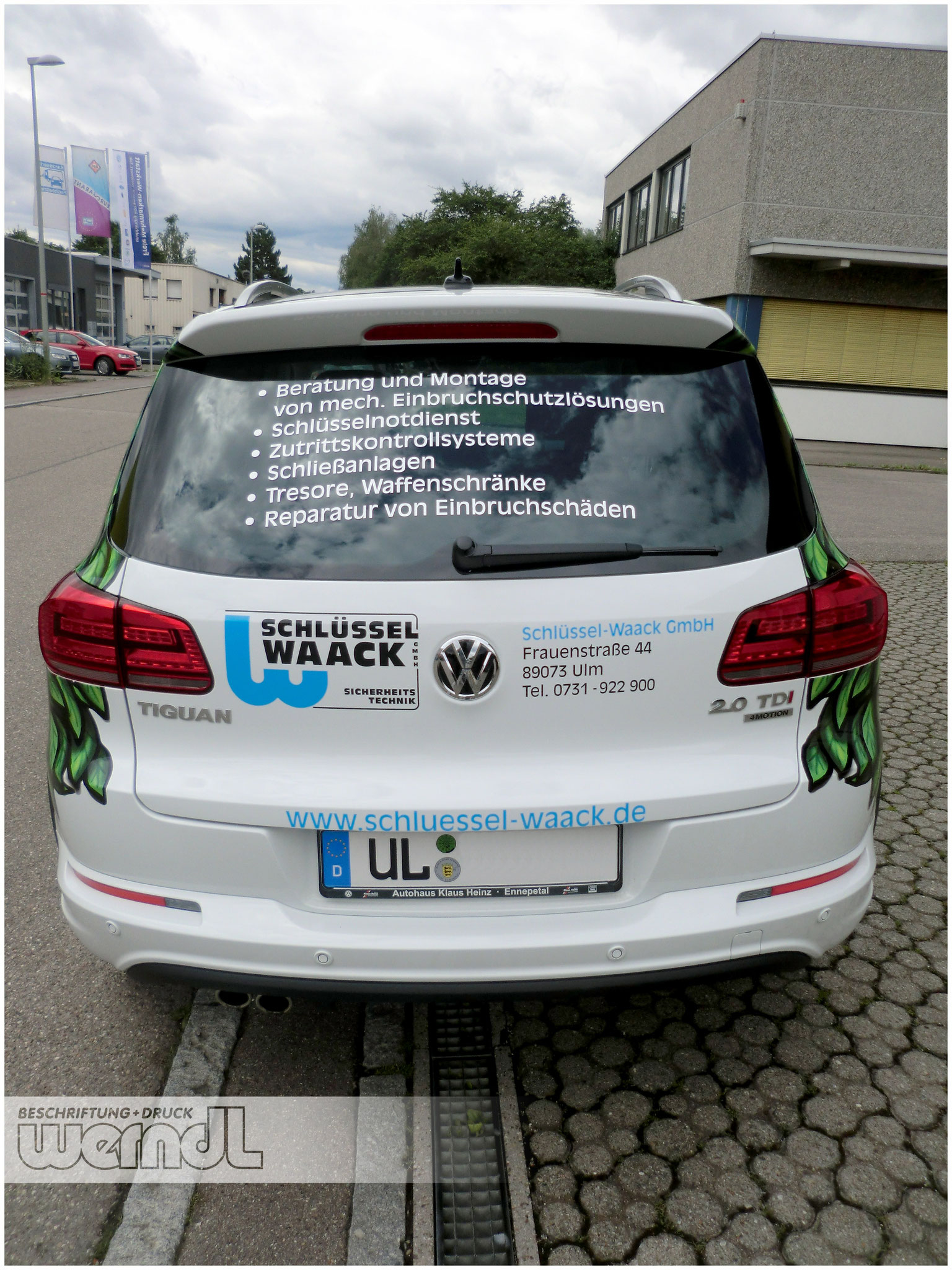 Fahrzeugvollverklebung VW Tiguan
