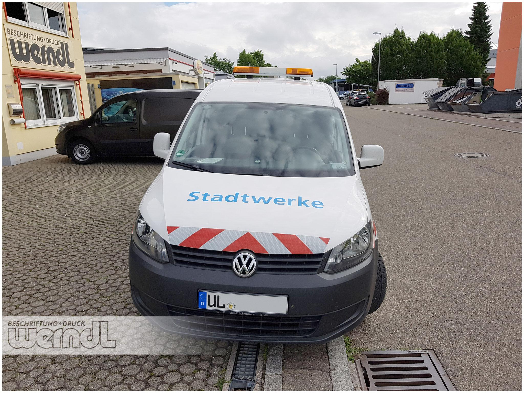 Flottenfolierung für die Stadtwerke Ulm
