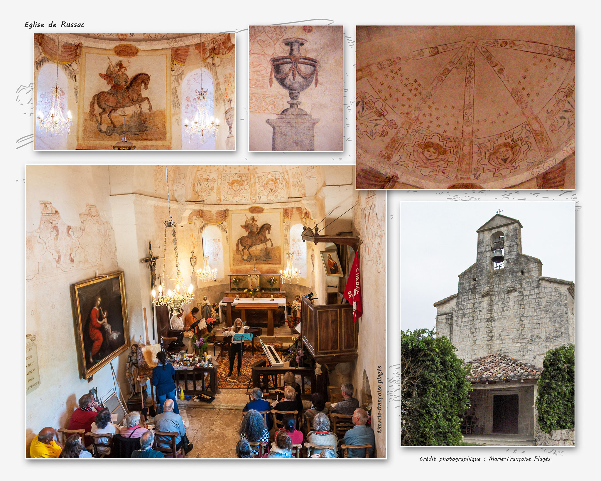 Eglise de Russac