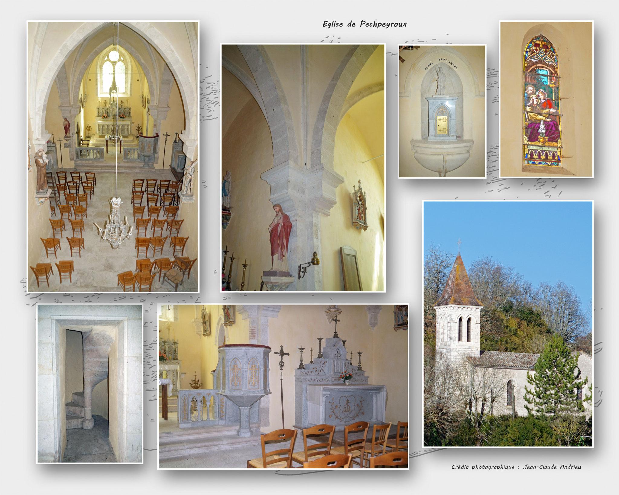 Eglise de Pechpeyroux