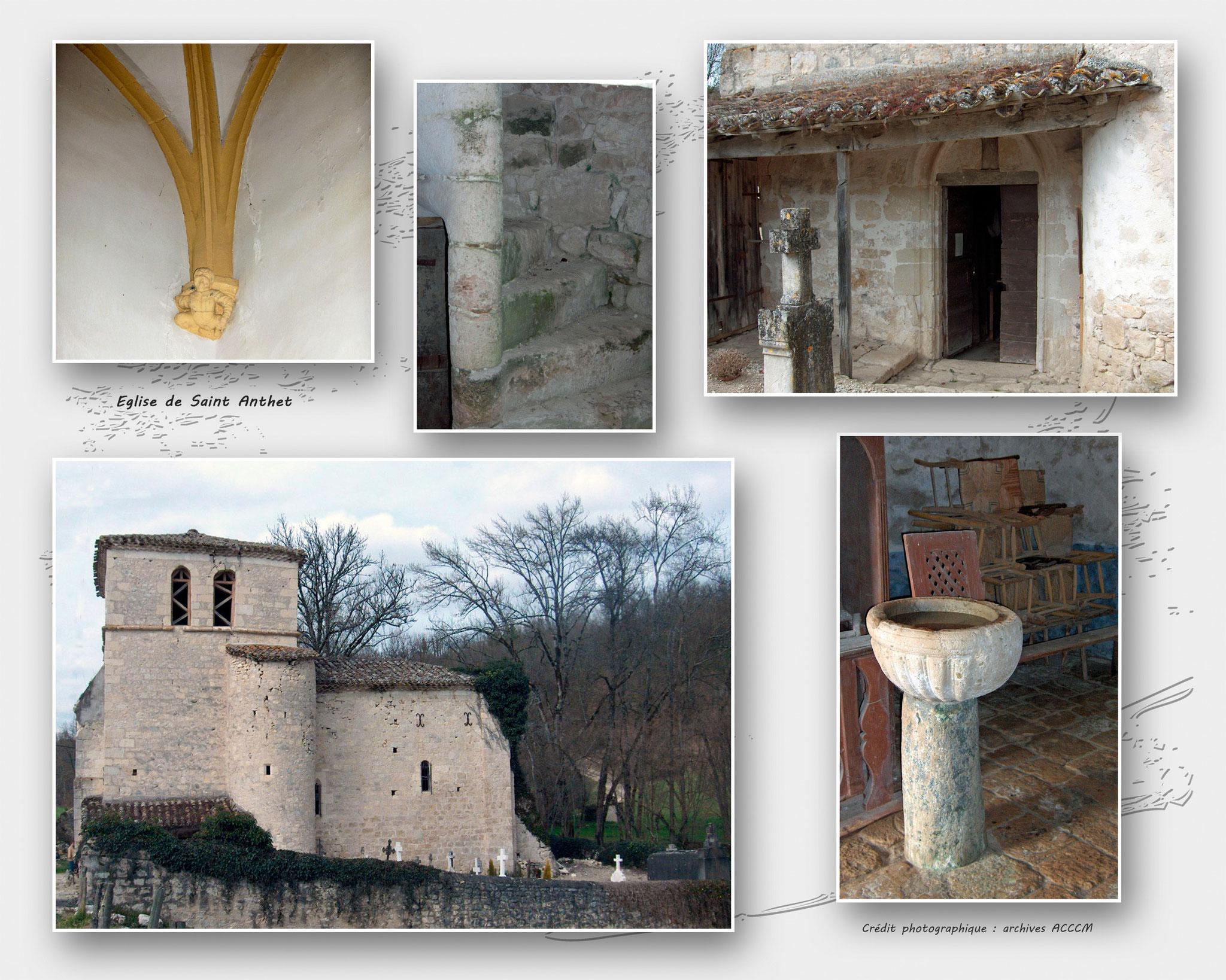Eglise de Saint Anthet